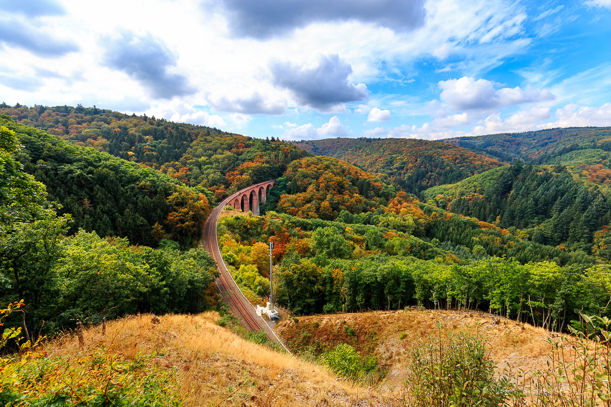 Hubertusviadukt near Boppard, Germany
