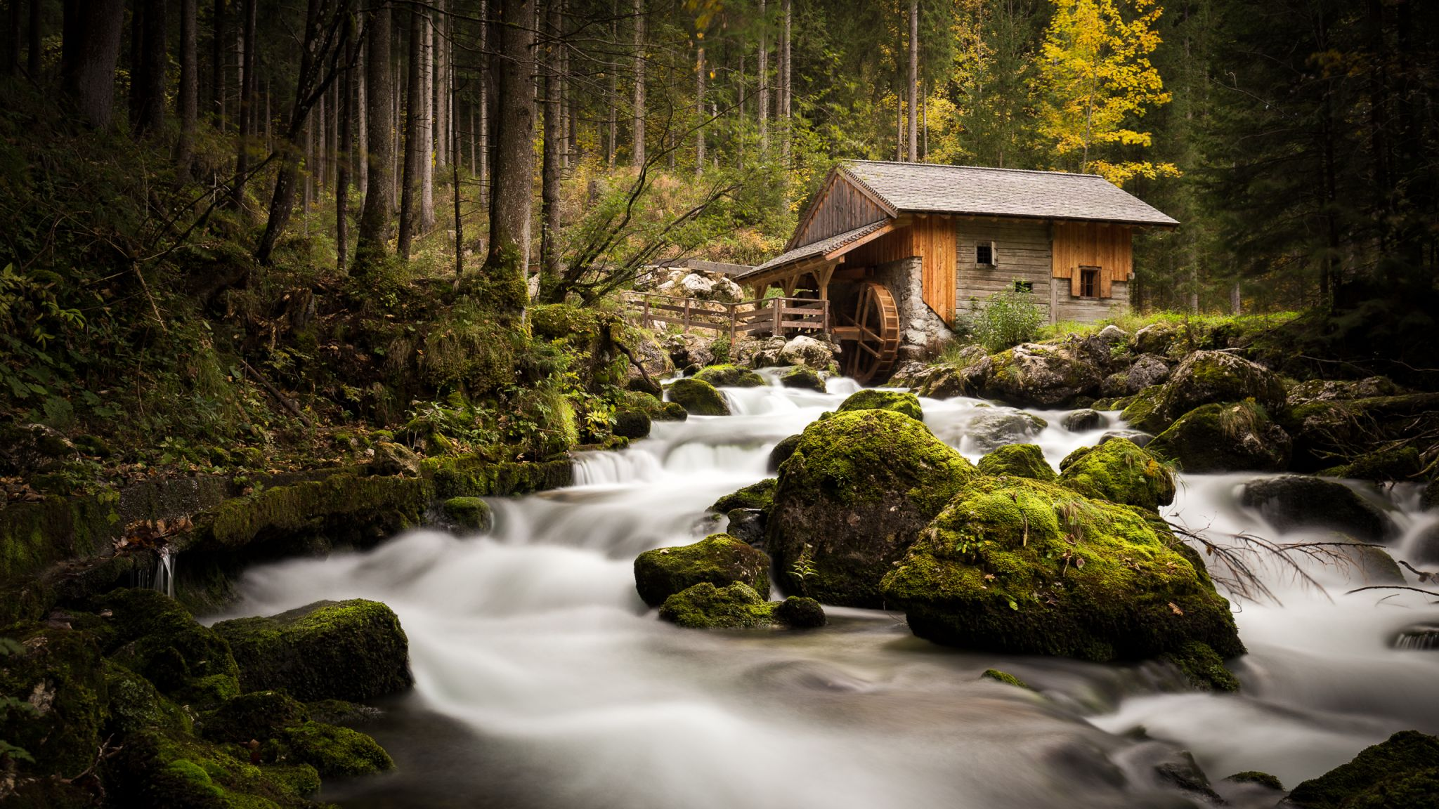 The mill of Golling, Austria