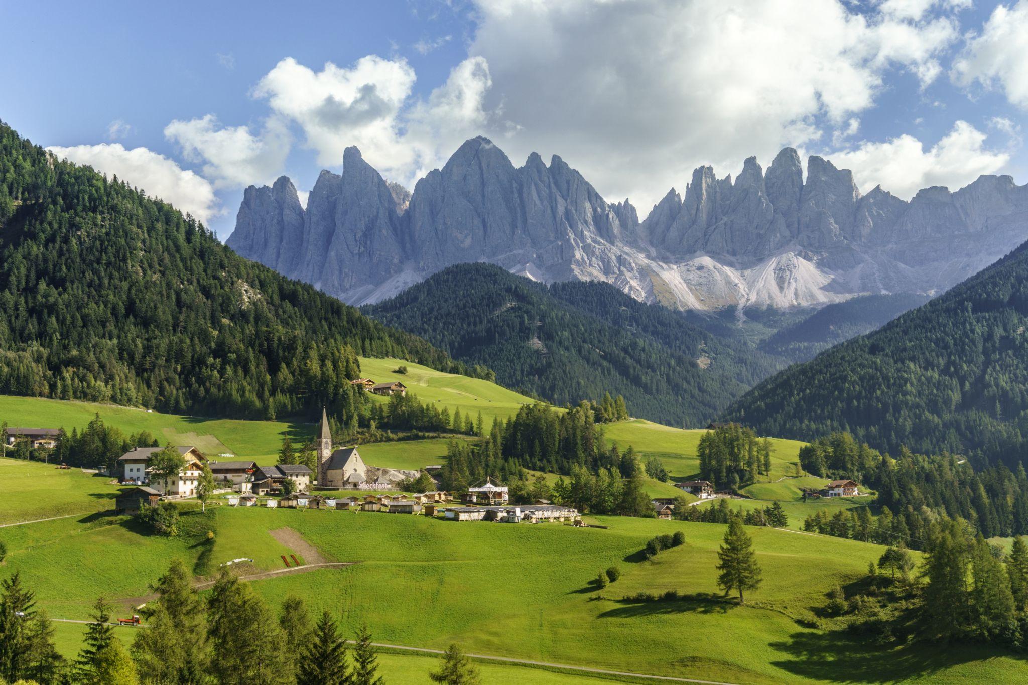 Val di Funes - Villnösser Tal, Italy
