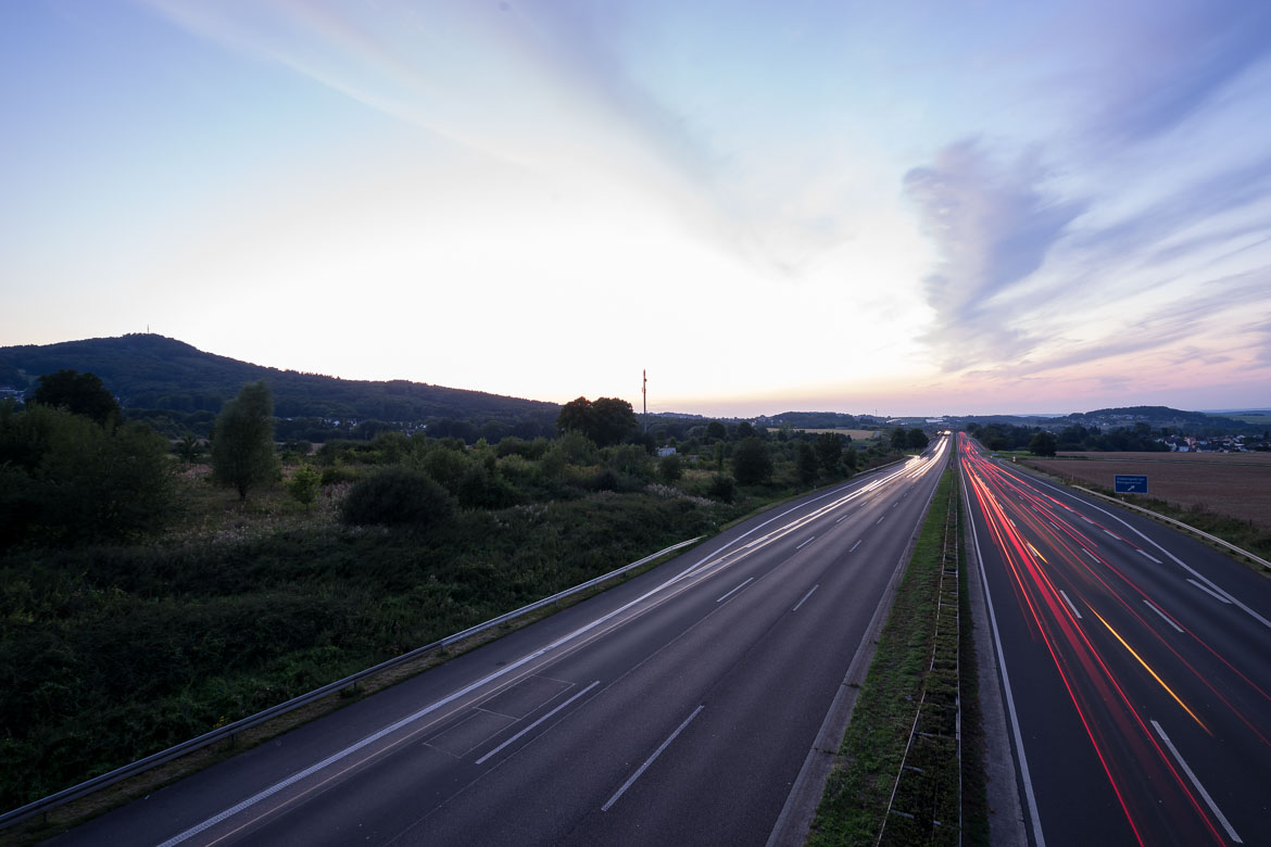 How to capture Car Trails during Sunset