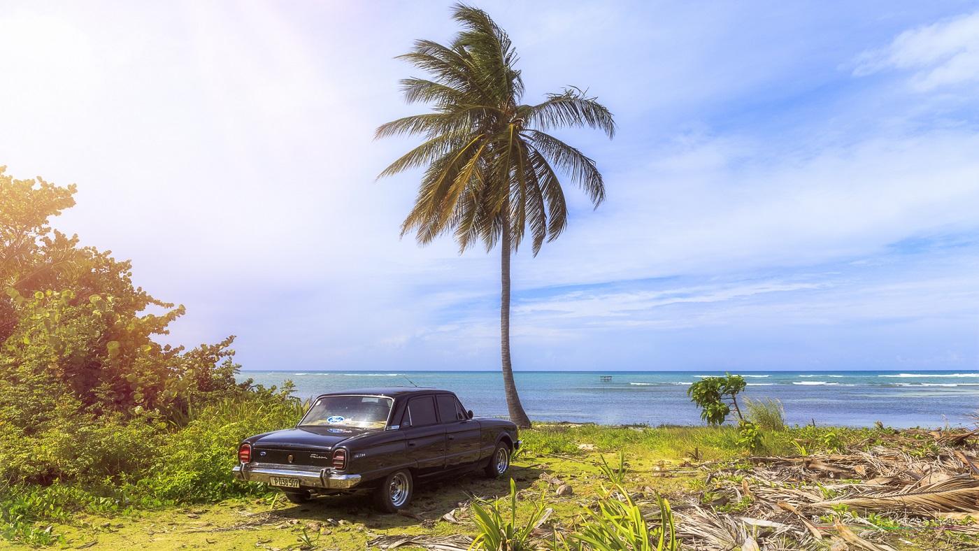 Beach at Cayo Jutia, Cuba
