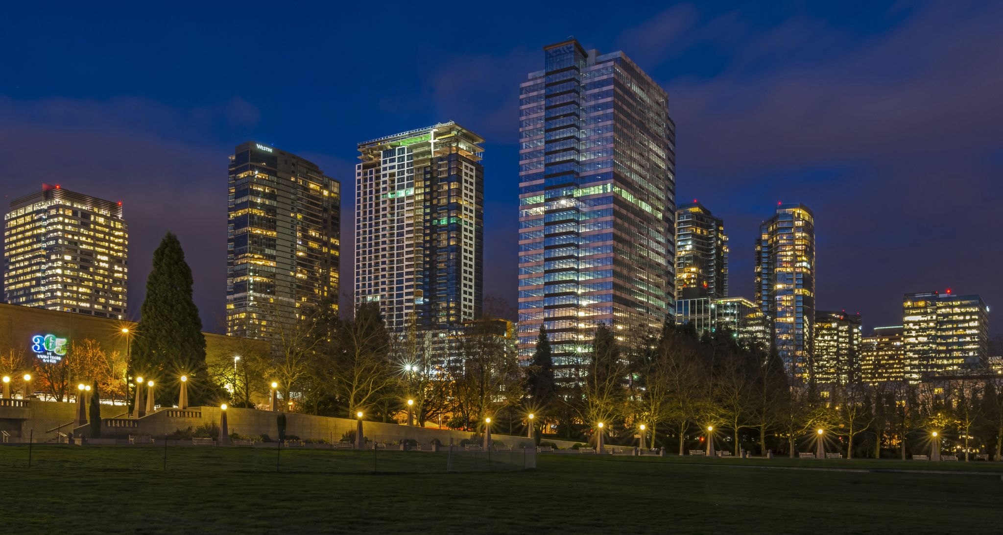 Bellevue Downtown Park, USA