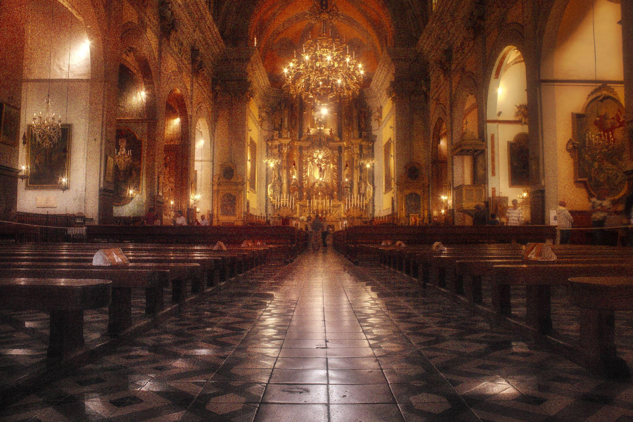 Church of Soller, Spain