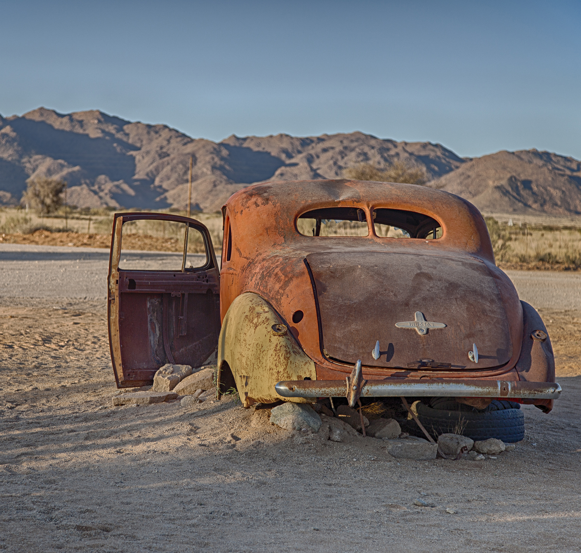 Classic car wrecks, Namibia