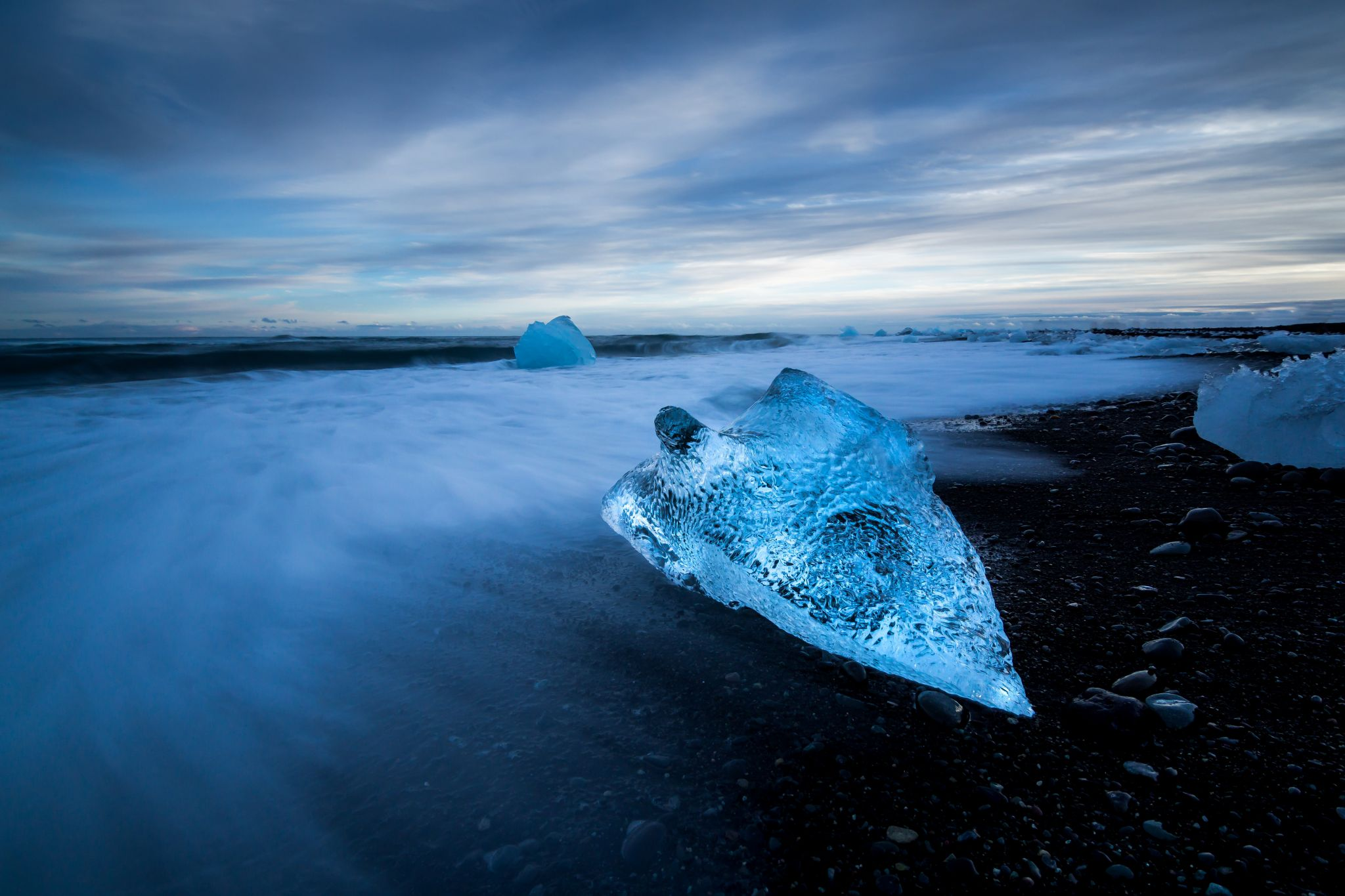 Diamond Beach in Iceland, Iceland