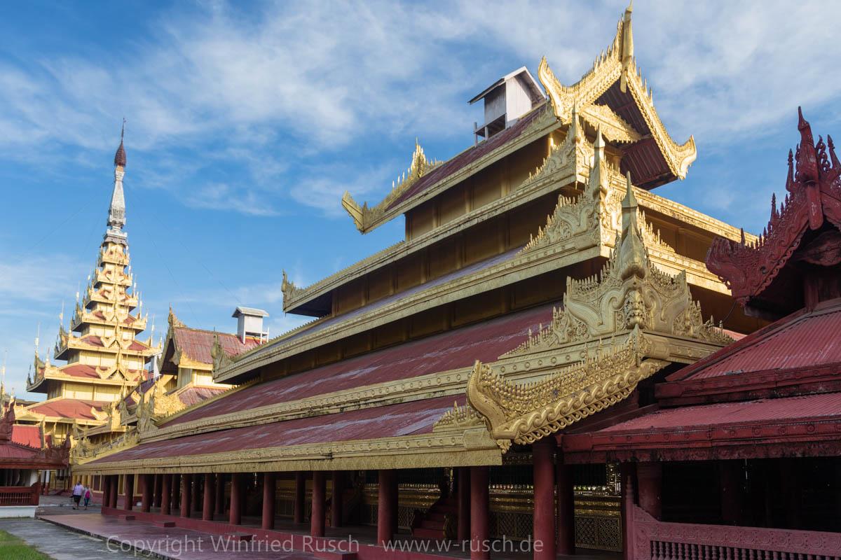 Glaspalast in Mandalay, Myanmar