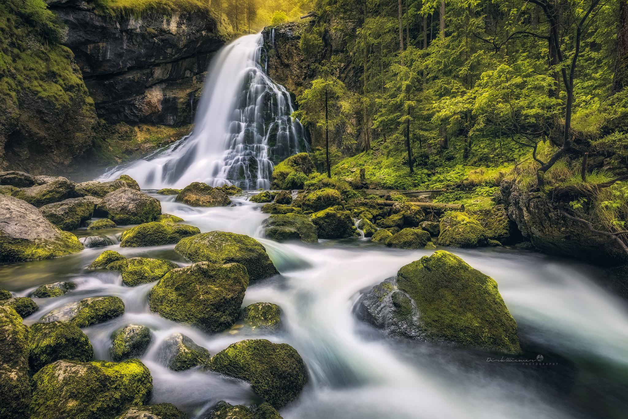 Gollinger Waterfall (Tennengau / Austria), Austria
