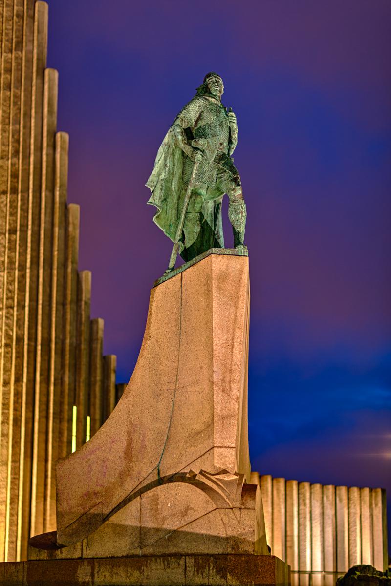Leifur Eiriksson, Iceland