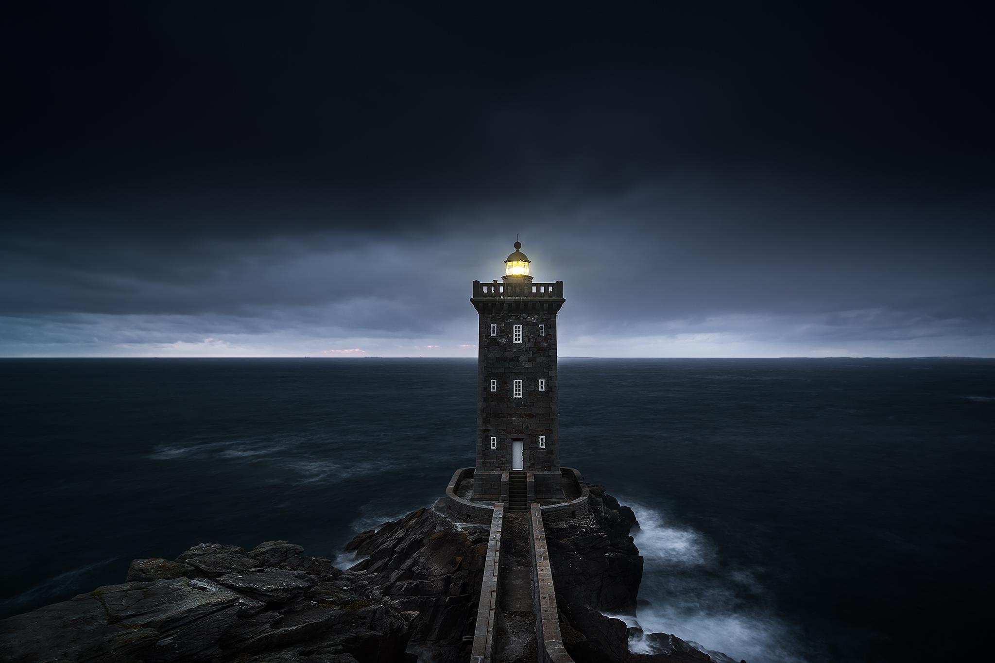 Lighthouse of Kermorvan, France