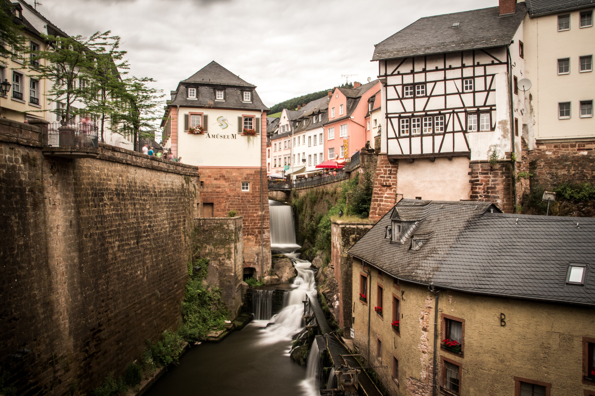 Old mill & waterfall, Germany