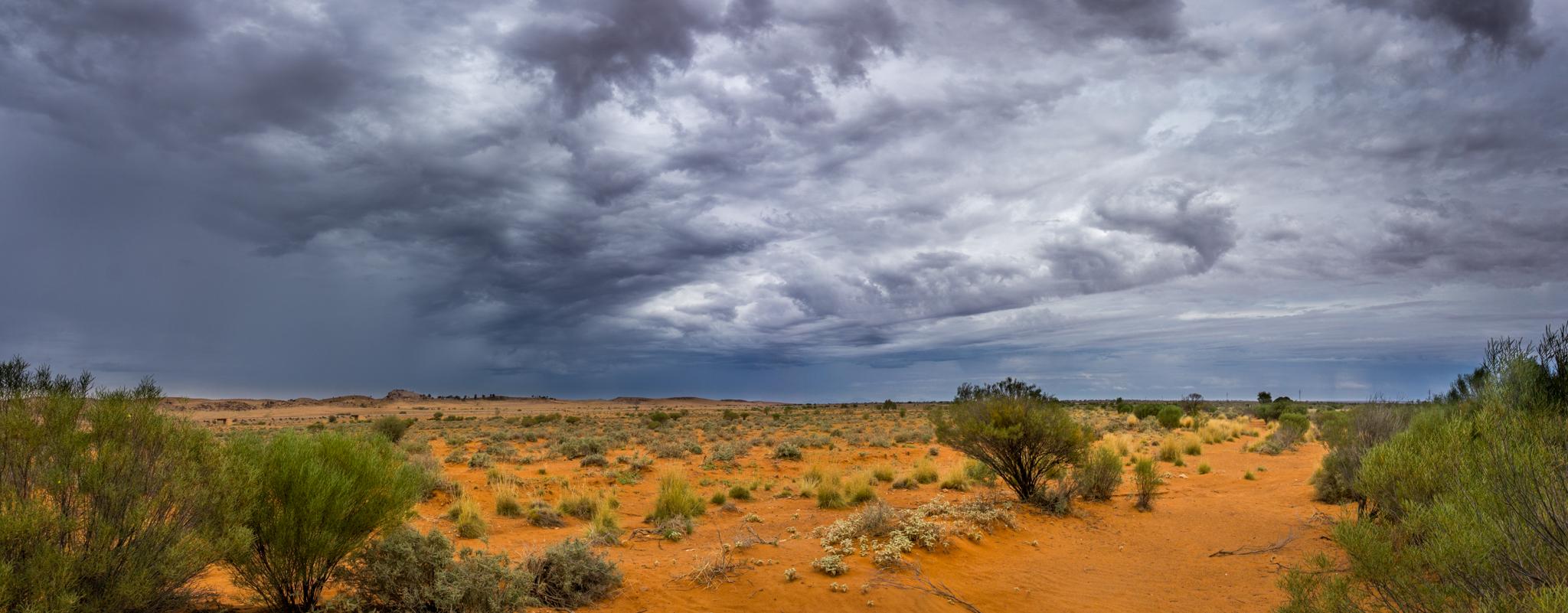 Outback Highway near Beltana, Australia