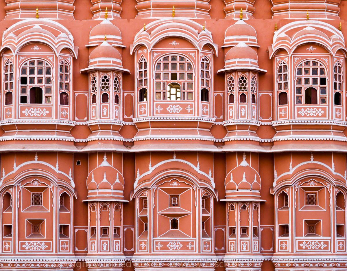 Palast der Winde in Jaipur, India