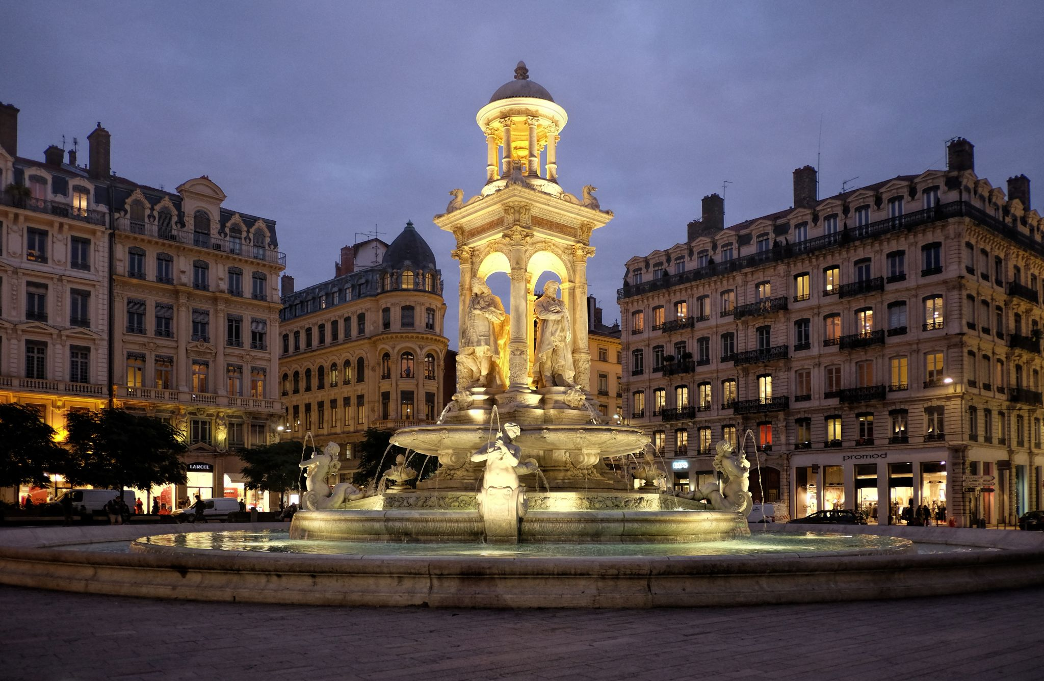 Place de Jacobins, Lyon, France