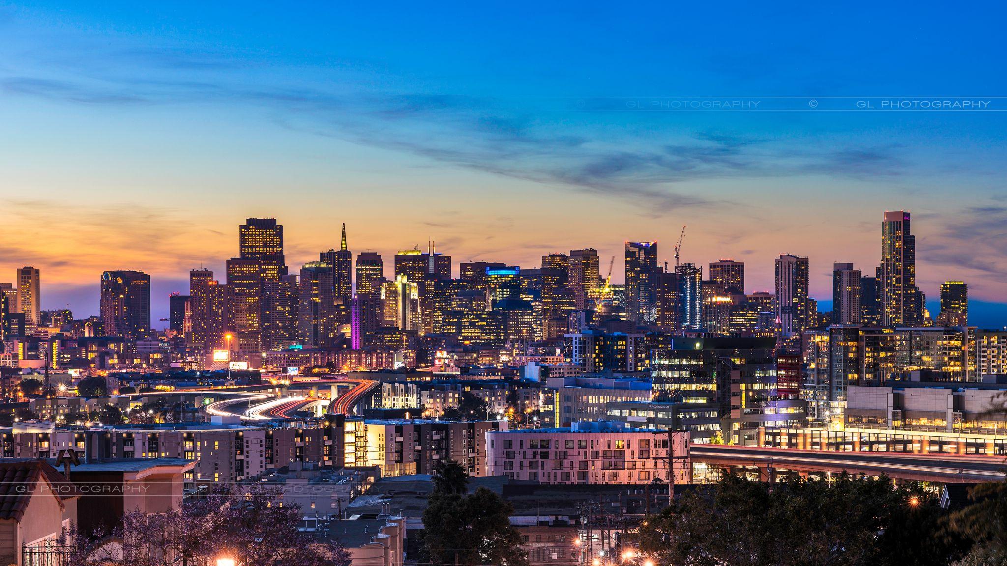 Potrero Hill @ San Fransisco, USA