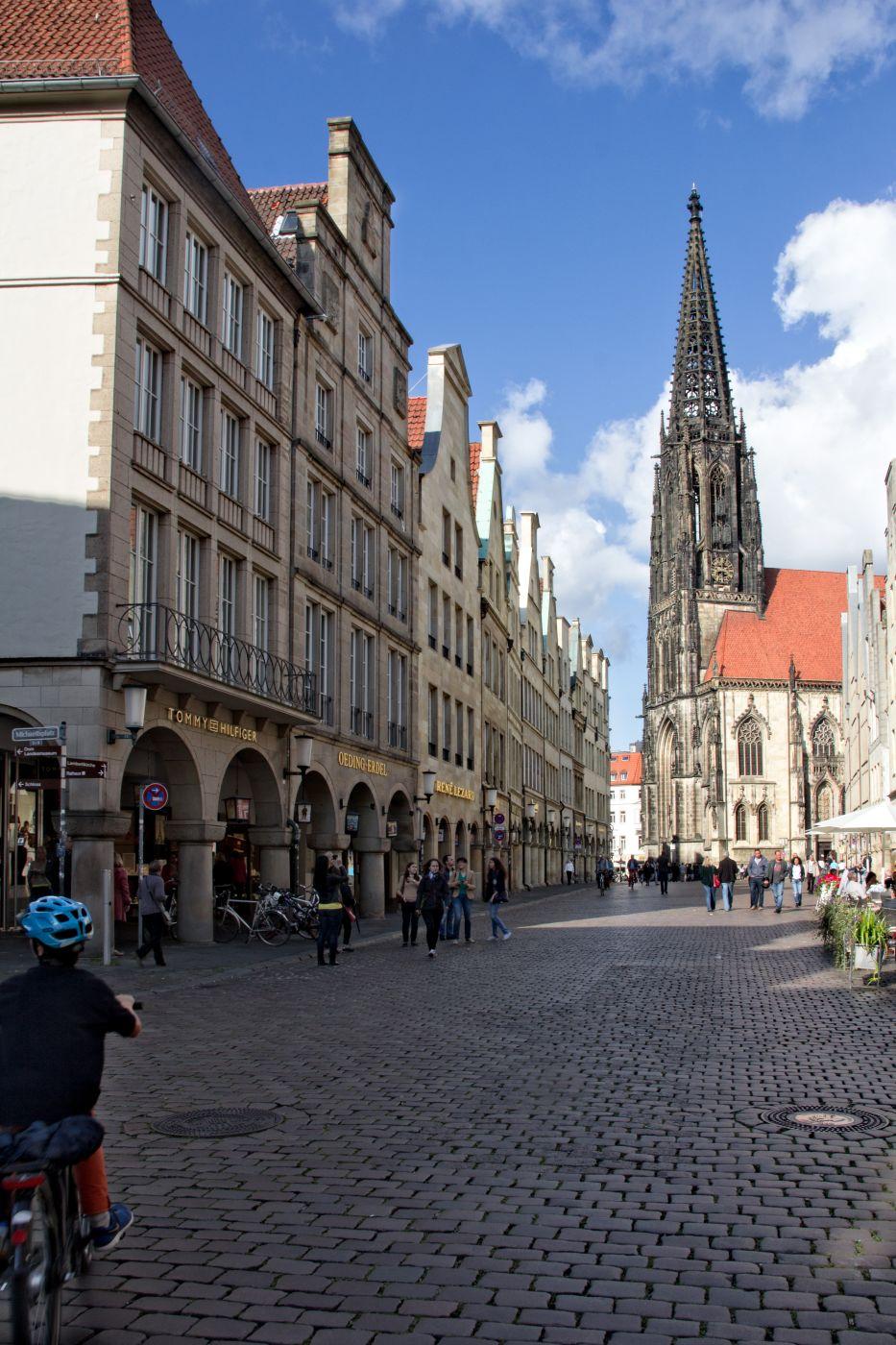Prinzipalmarkt Münster, Germany