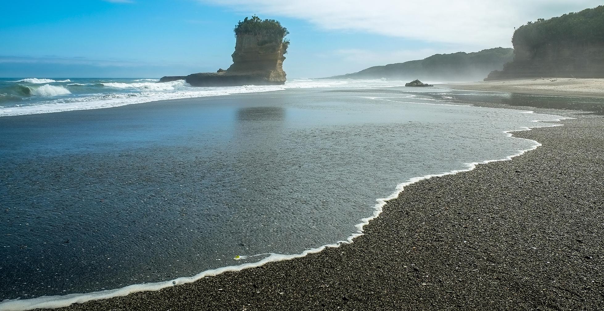 Punakaiki seashore, New Zealand