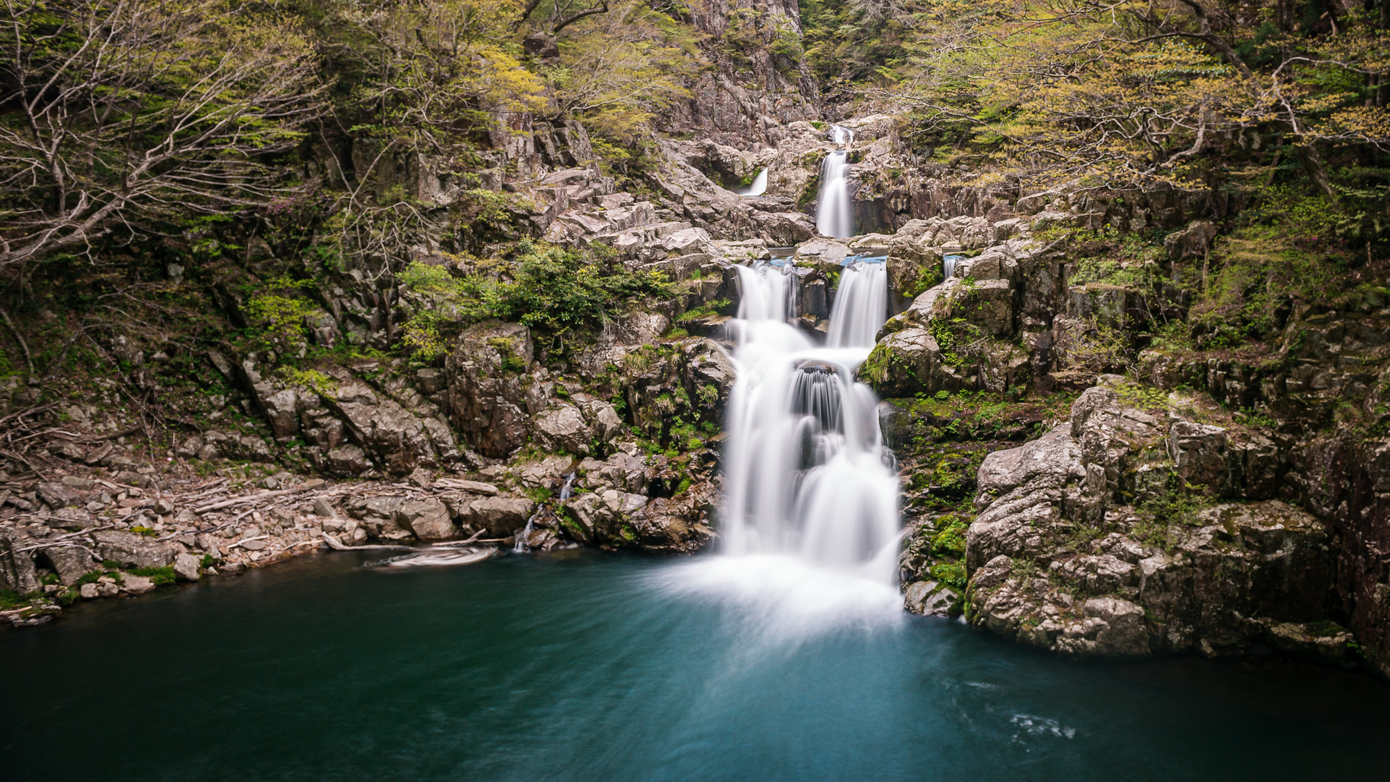 Sandandaki waterfall, Japan, Japan