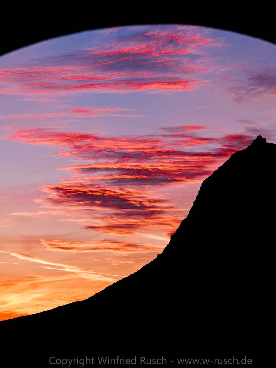 Sonnenuntergang auf Naxos, Greece