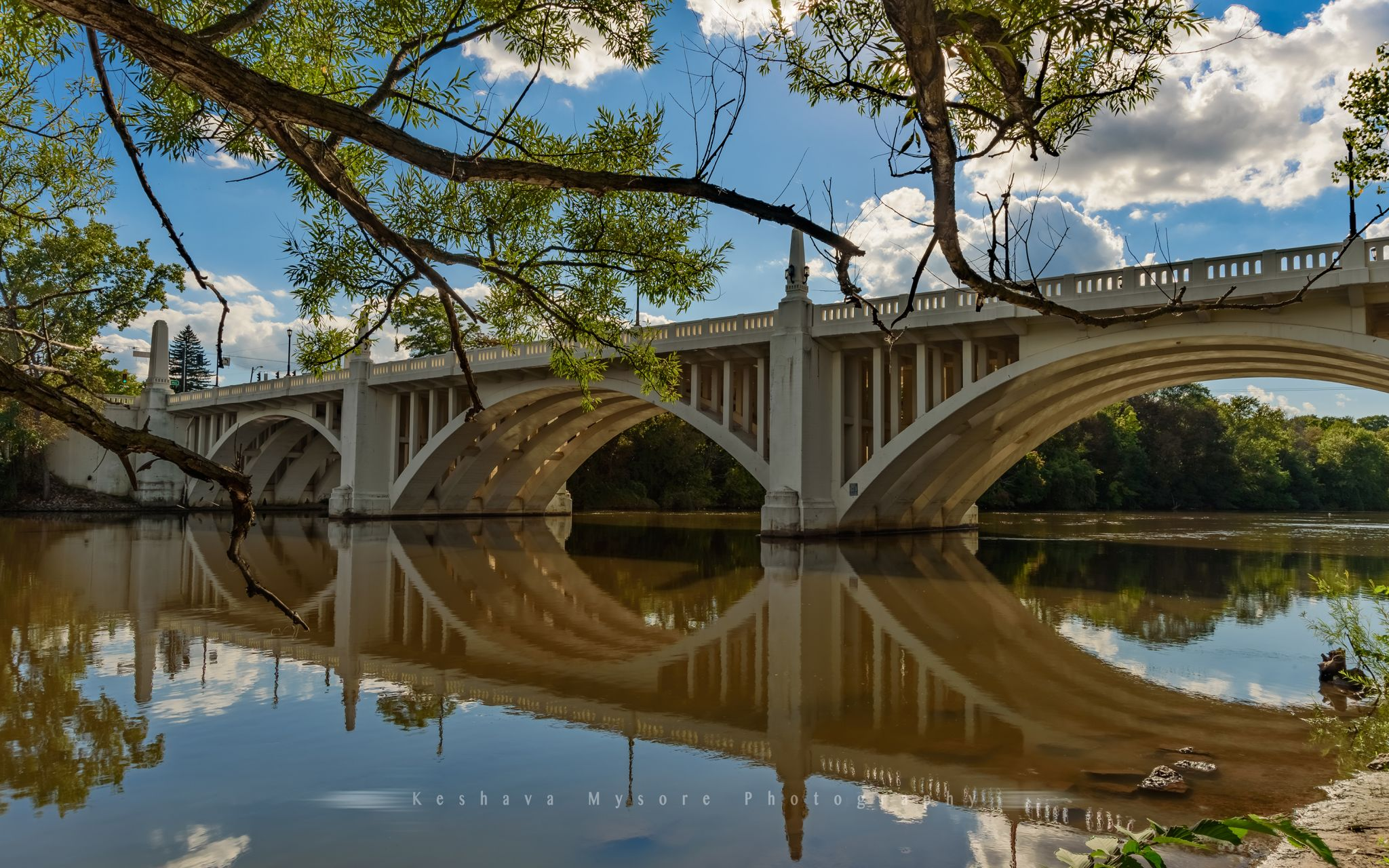 Twyckenham Drive bridge, South Bend, IN, USA