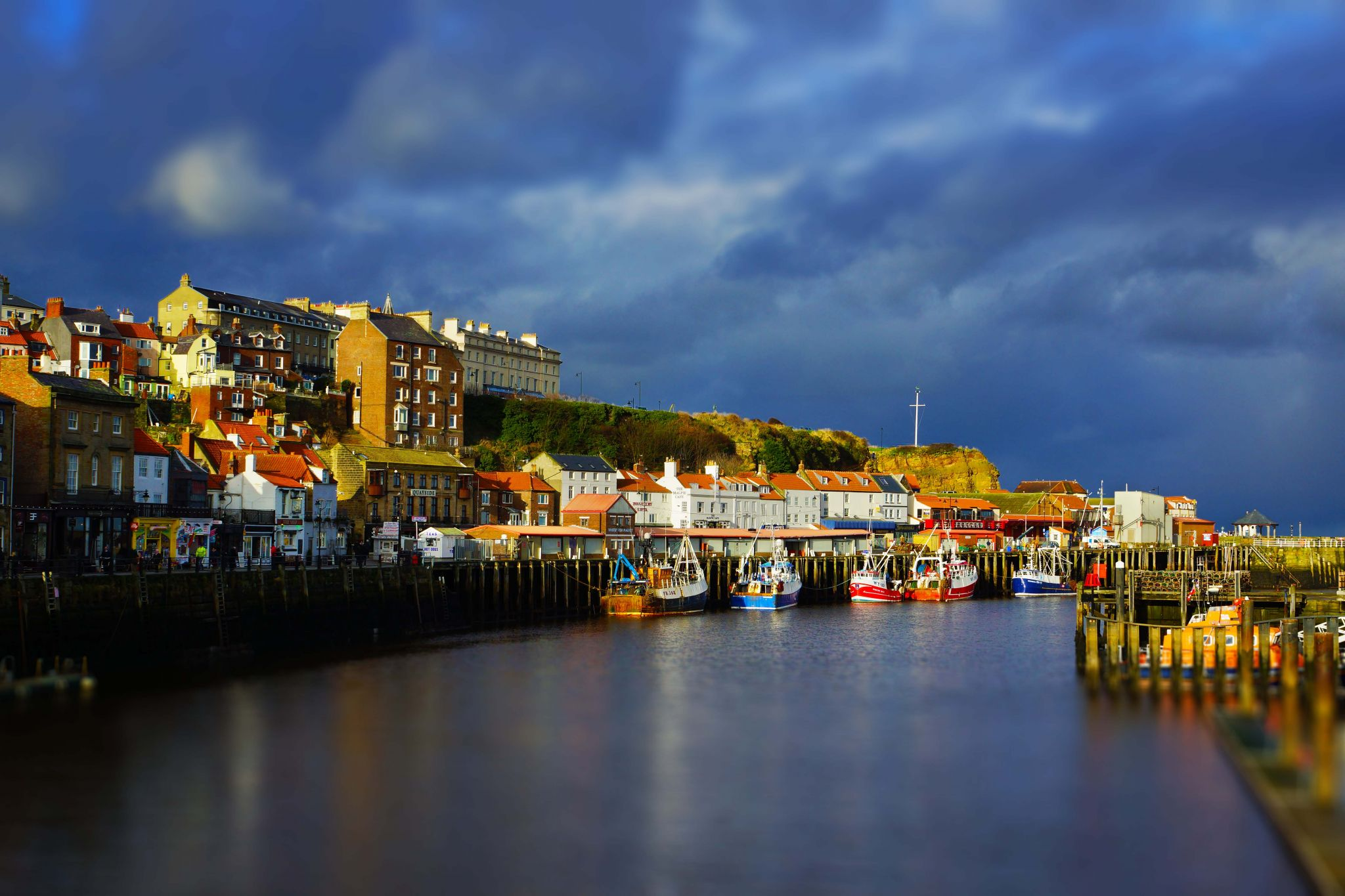 Whitby Harbour, United Kingdom