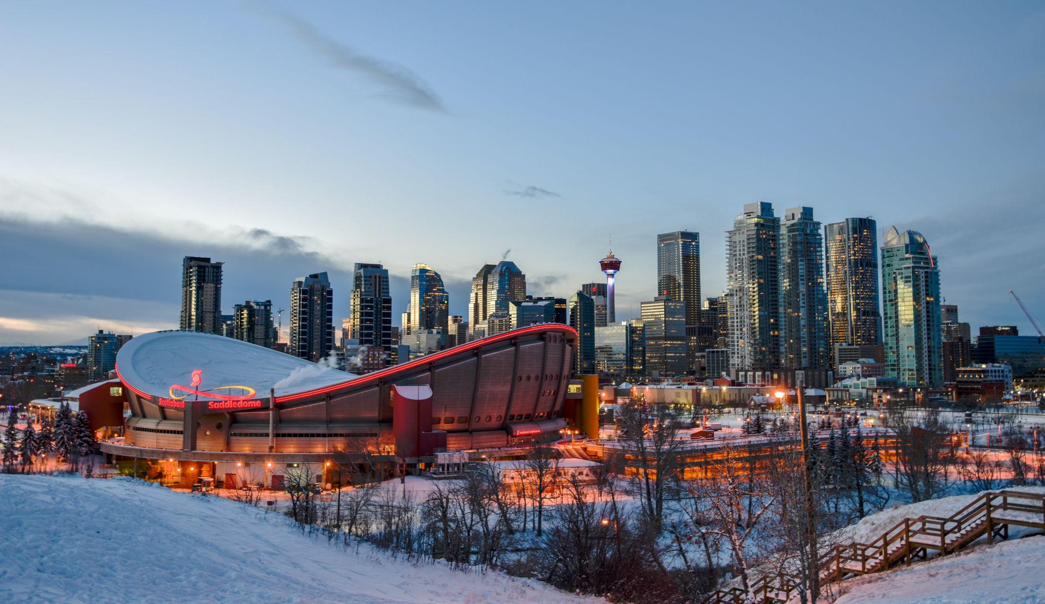 Calgary Downtown - Enmax Park, Canada