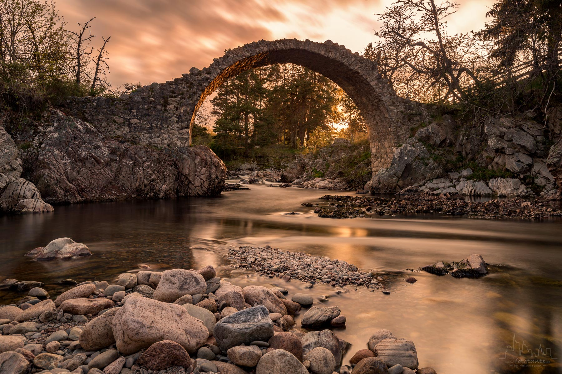 Carrbridge bridge, United Kingdom