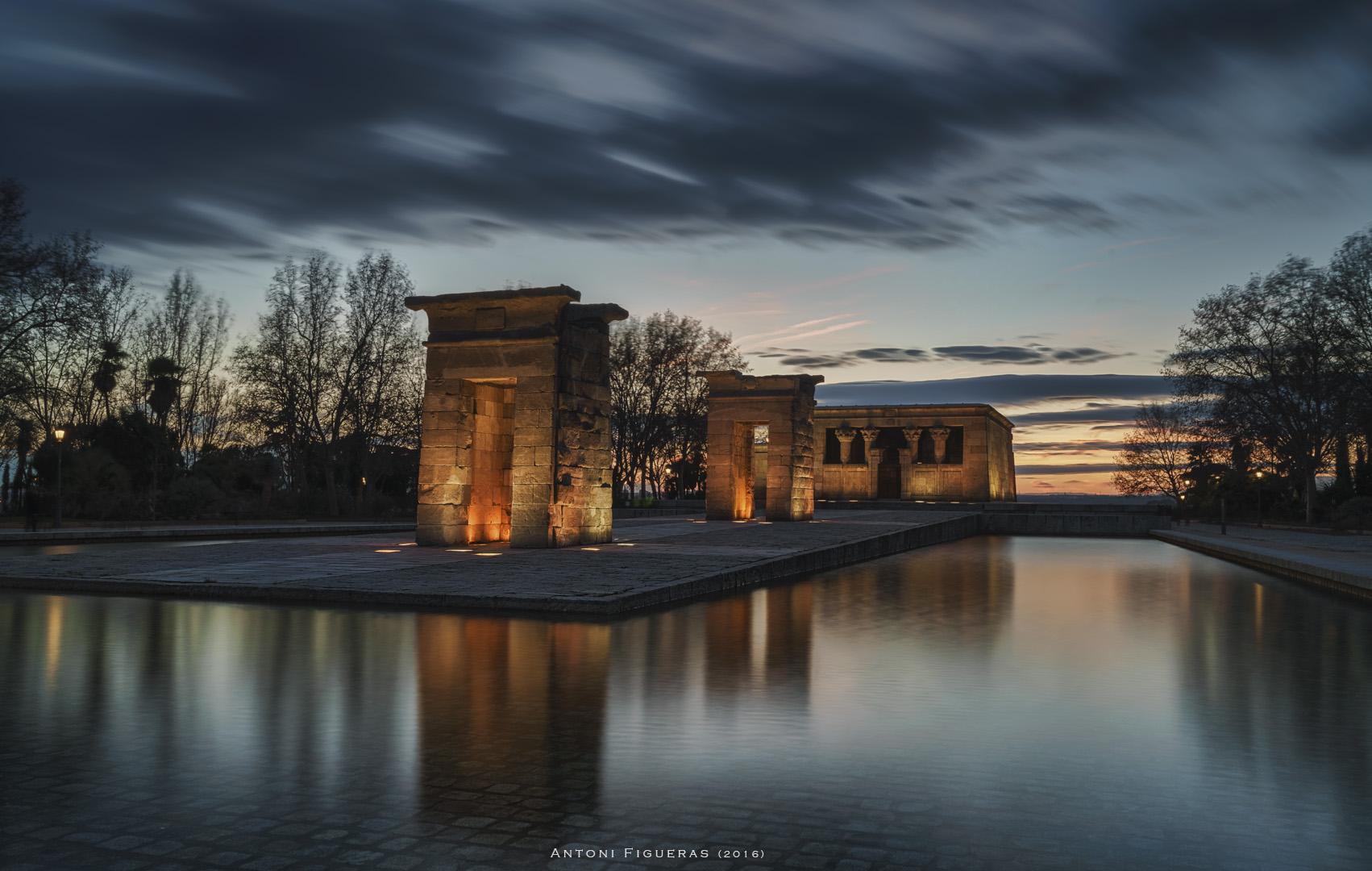 Debod Temple, Spain