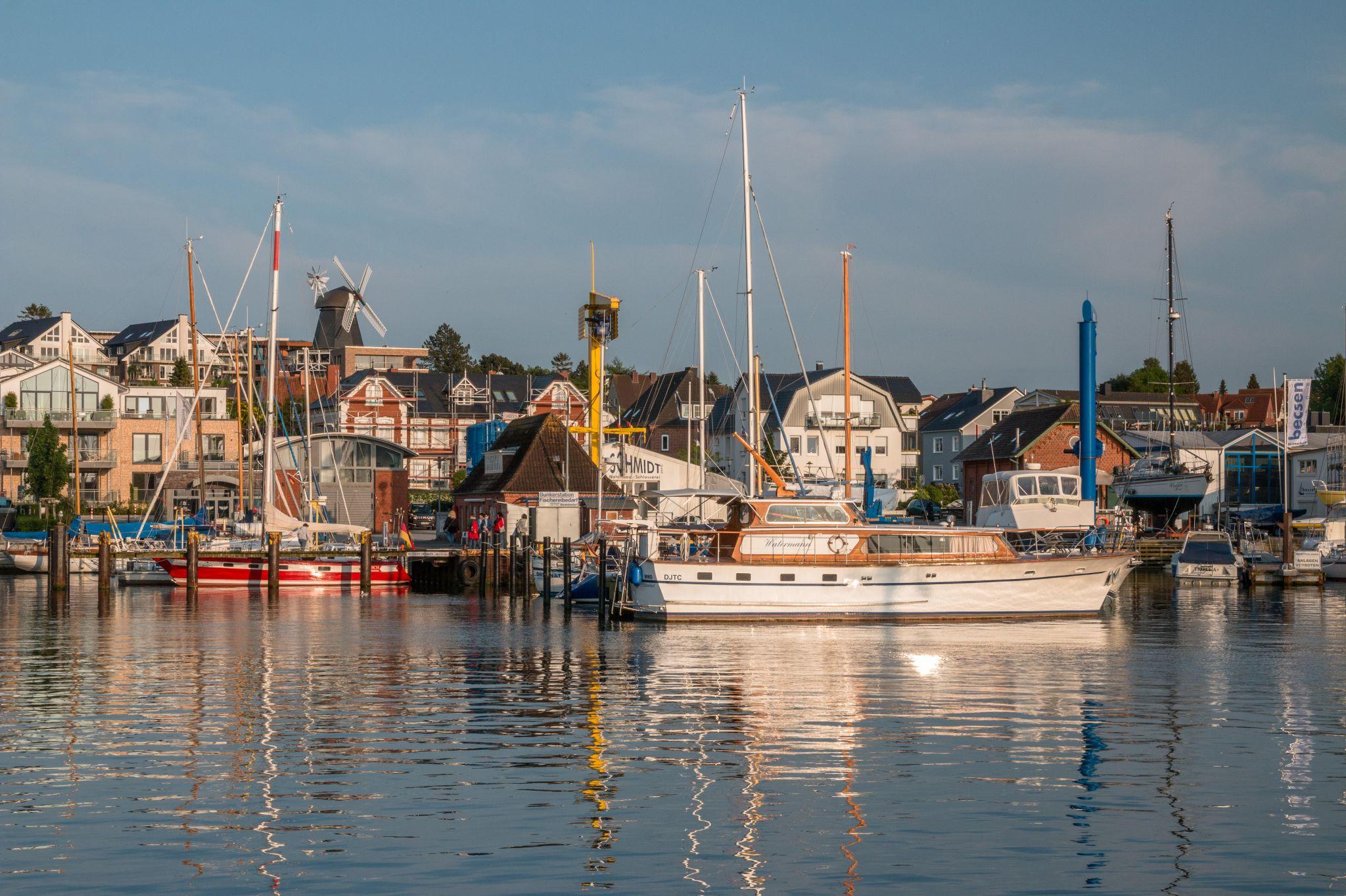 Harbor of Laboe, Germany