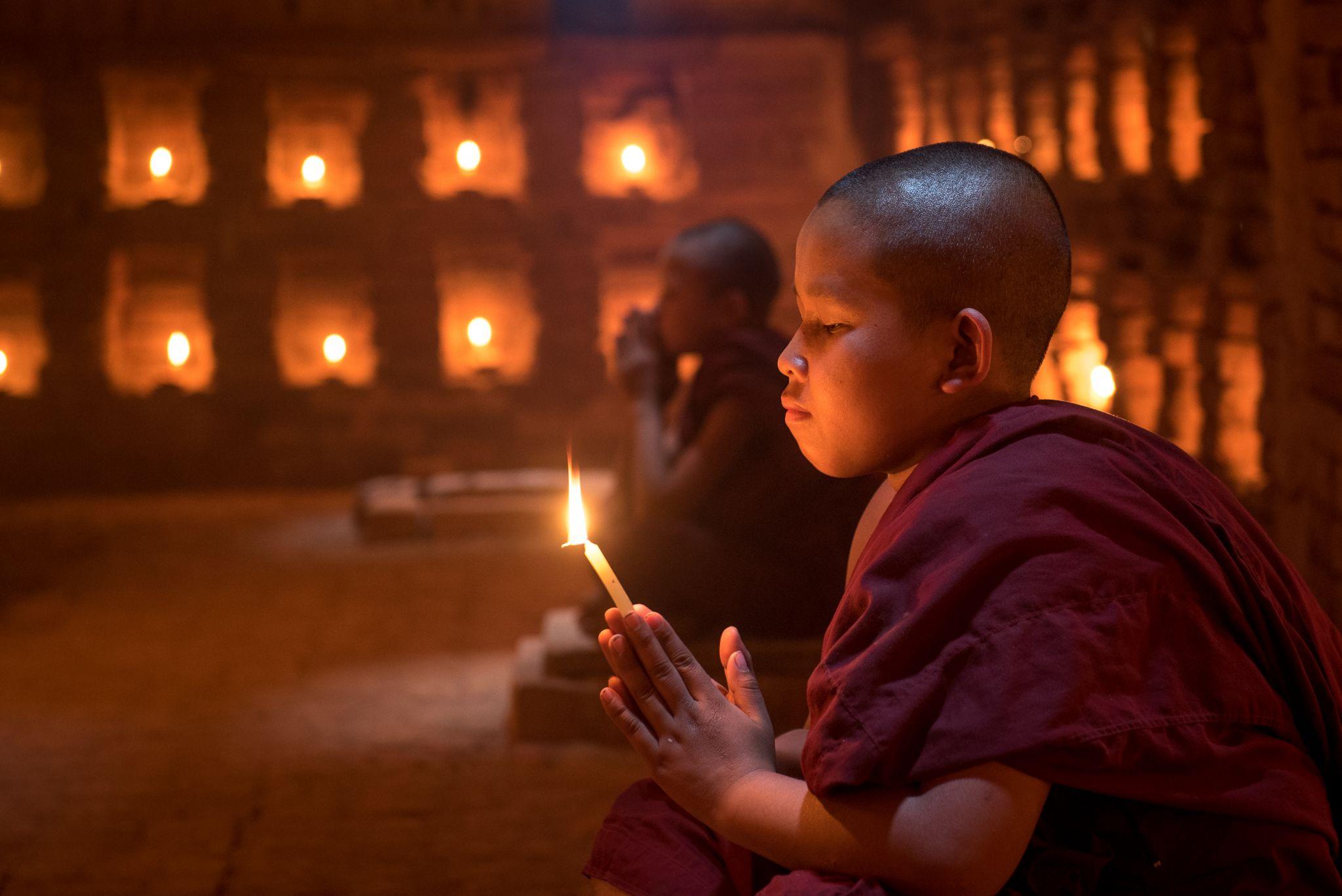 Hidden Cave Bagan, Myanmar