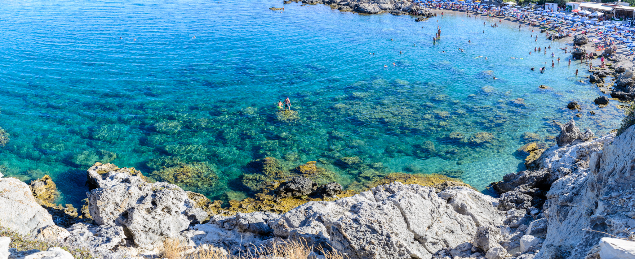 Ladiko beach, Rodos, Greece