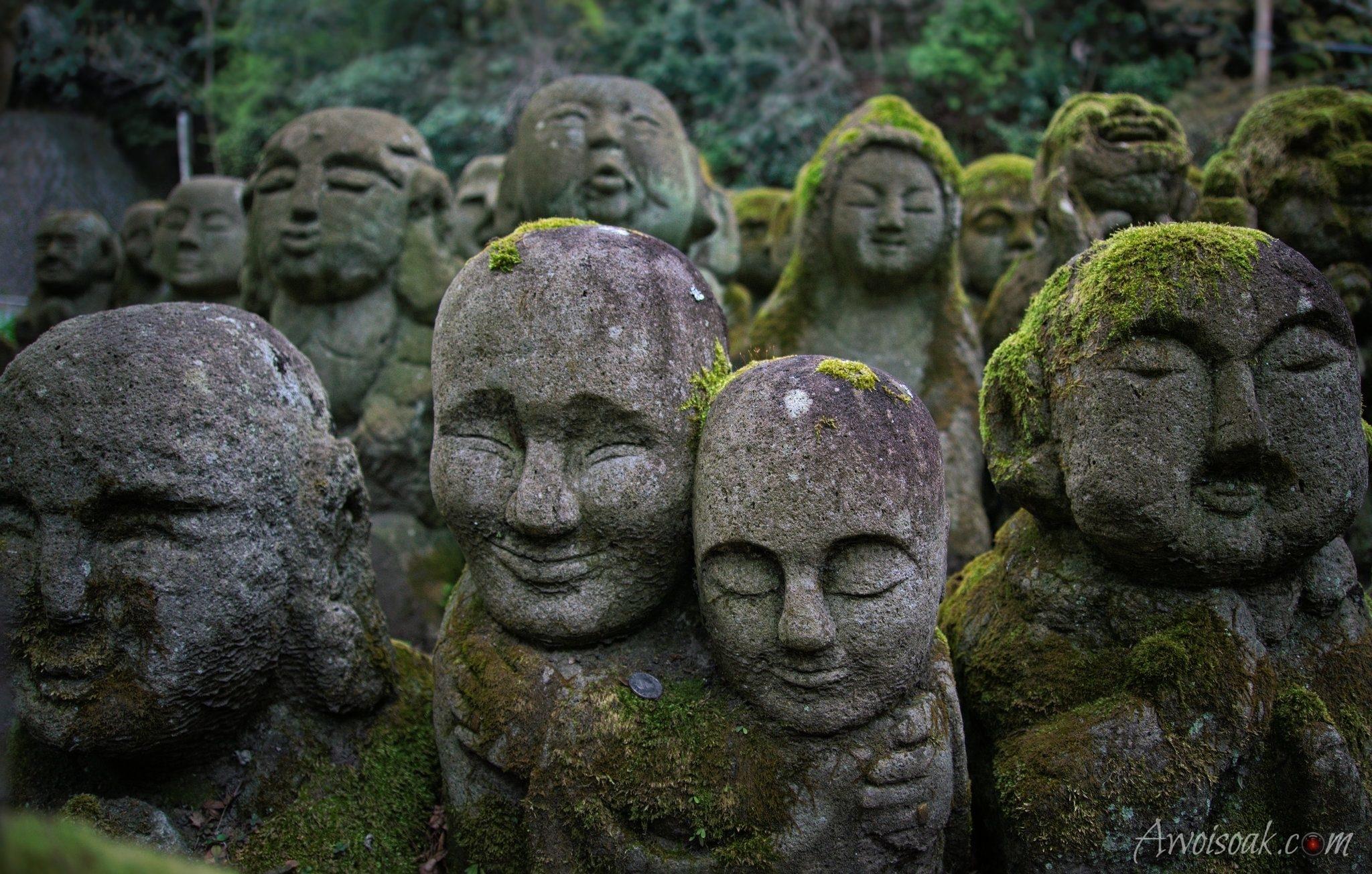 Otagi nenbutsu-ji temple, Japan