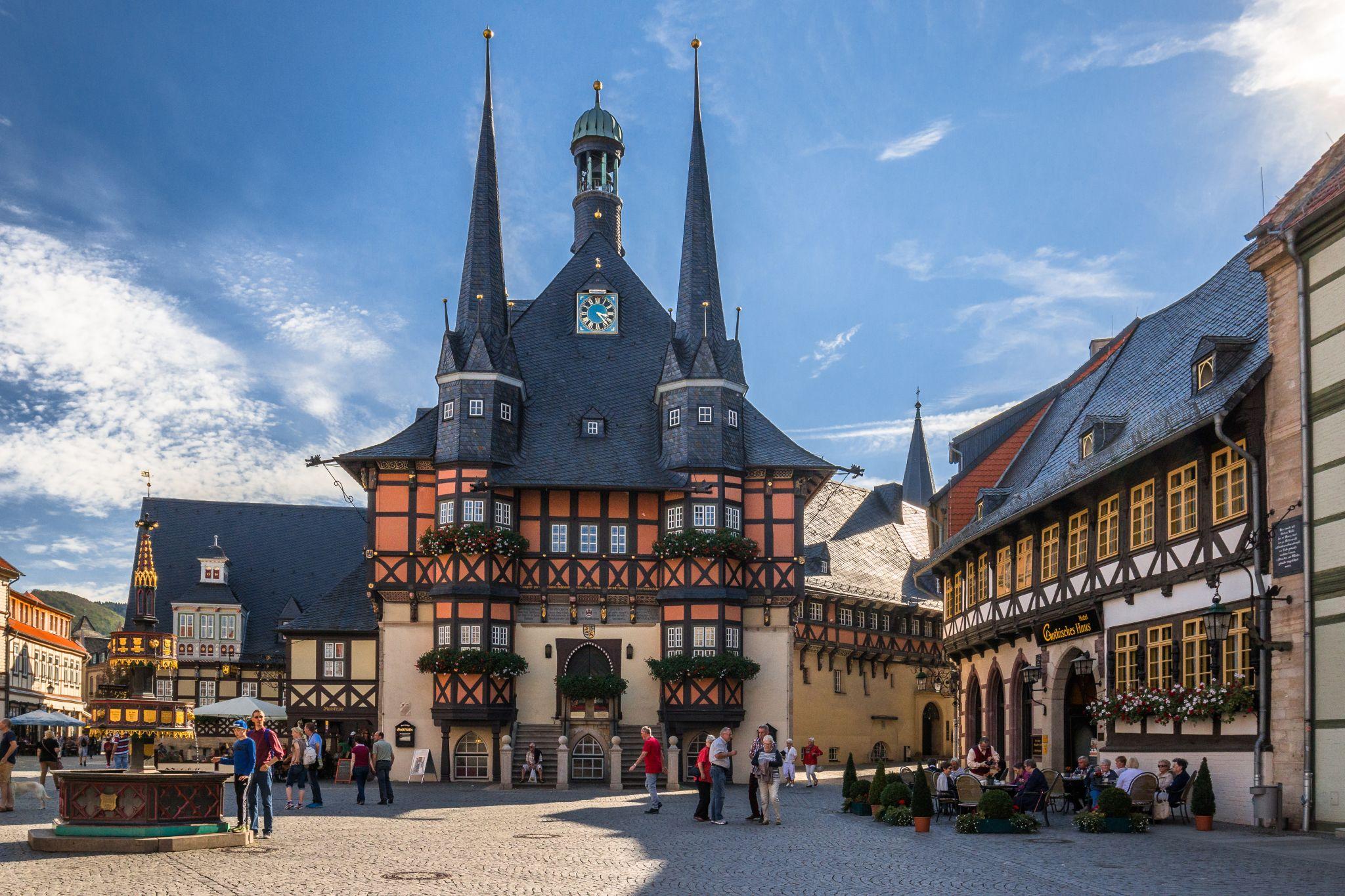 Rathaus Wernigerode, Germany
