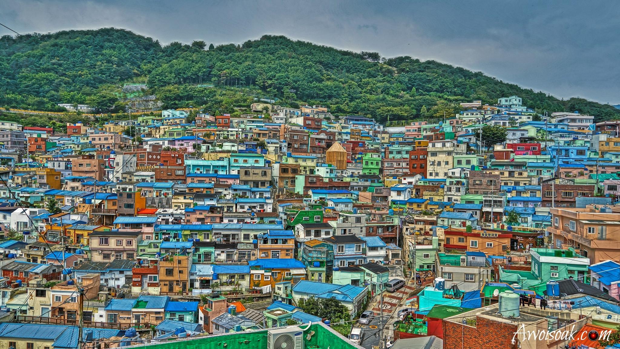 Busan Gamcheon Culture Village, Korea