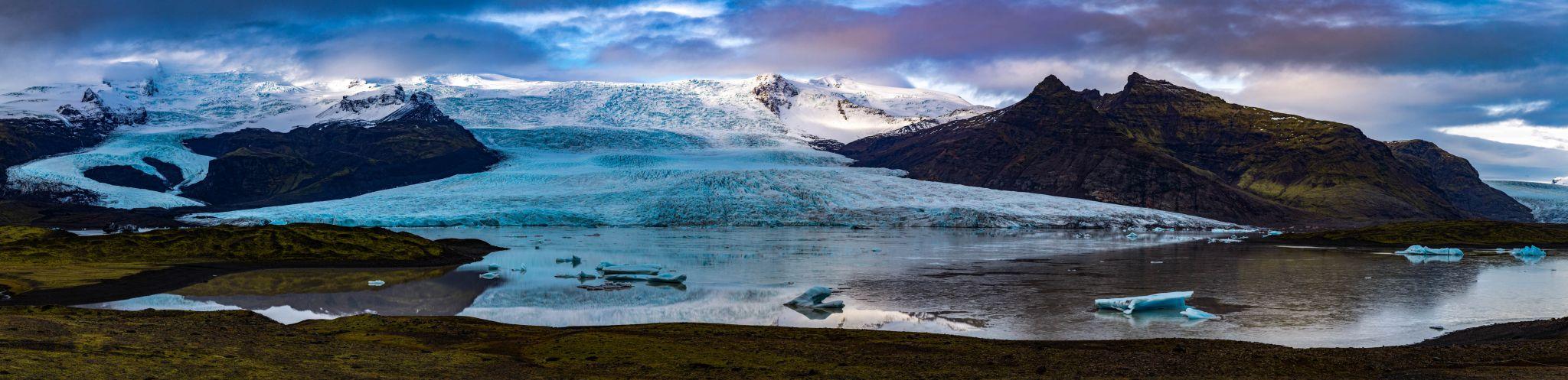 Fjallsárlon glacier lagoon, Iceland