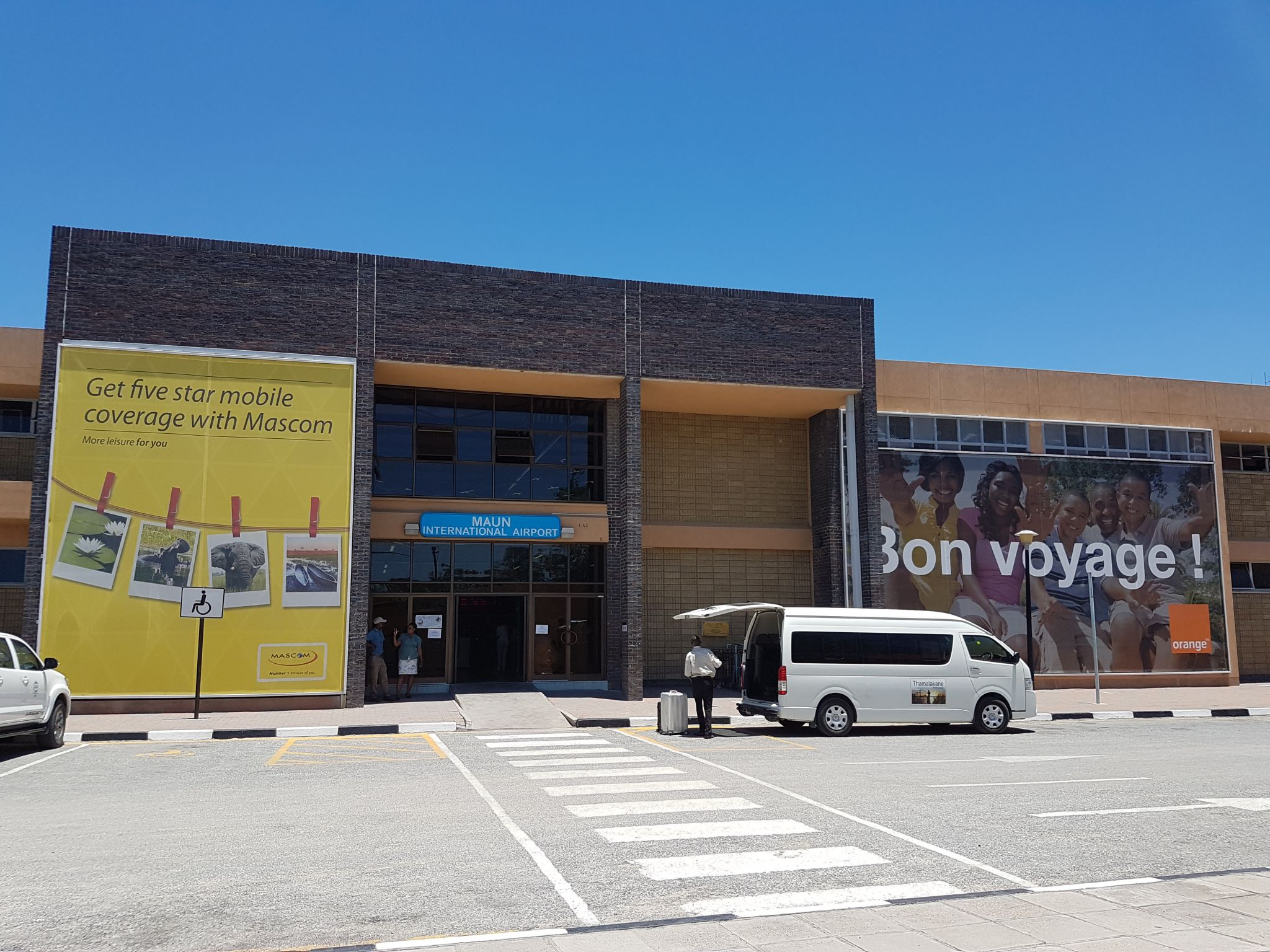 Maun intl Airport, Botswana