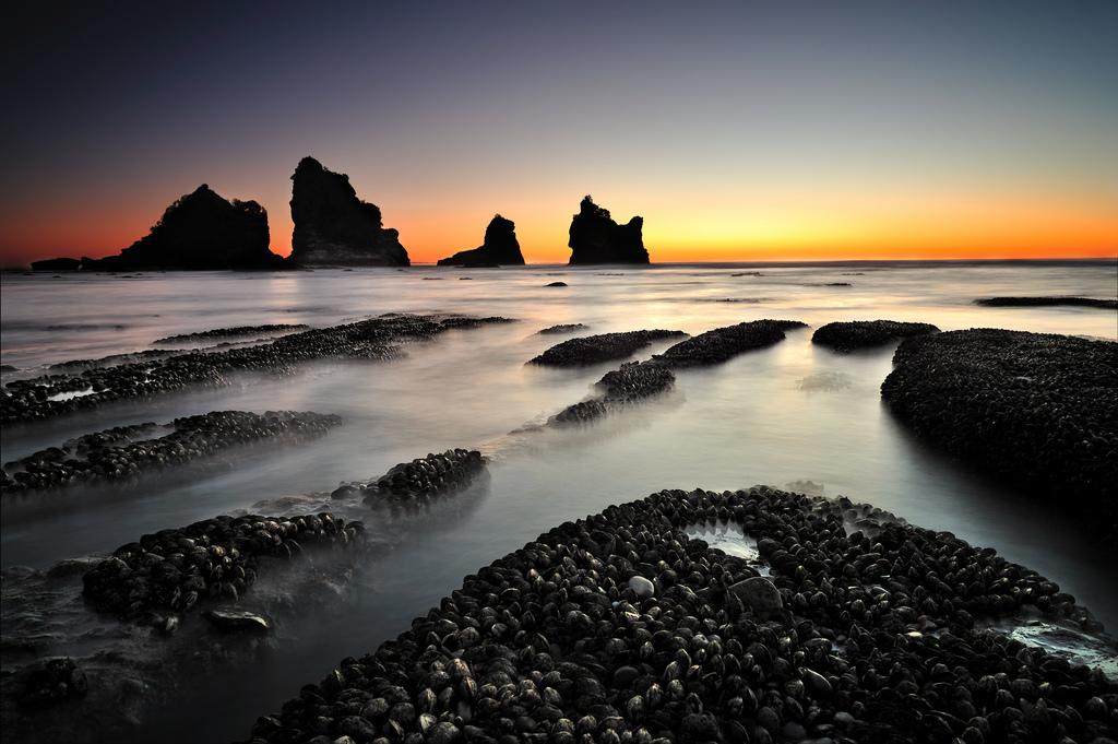 Motukikie Rocks, West Coast New Zealand, New Zealand