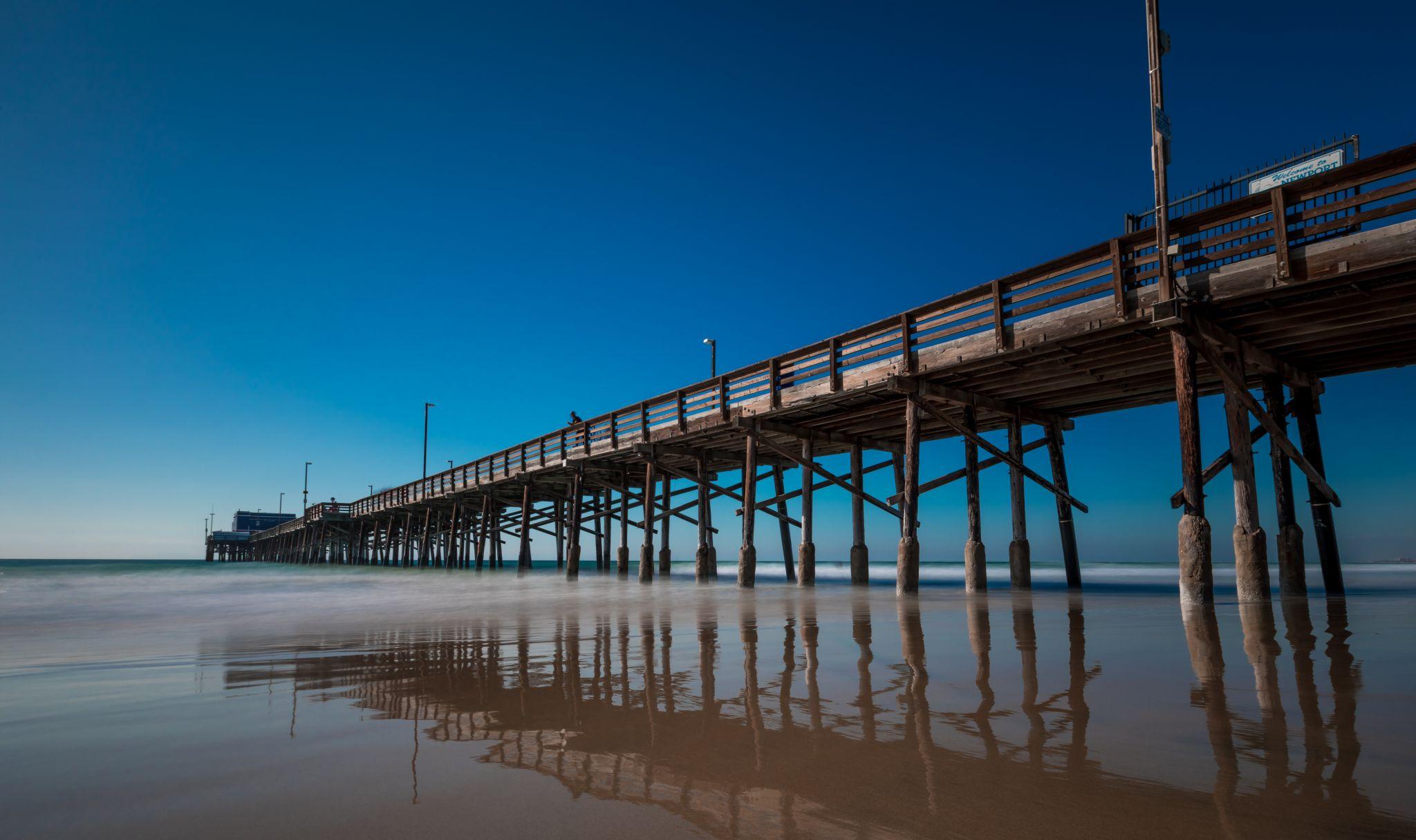 Newport Beach Pier, USA