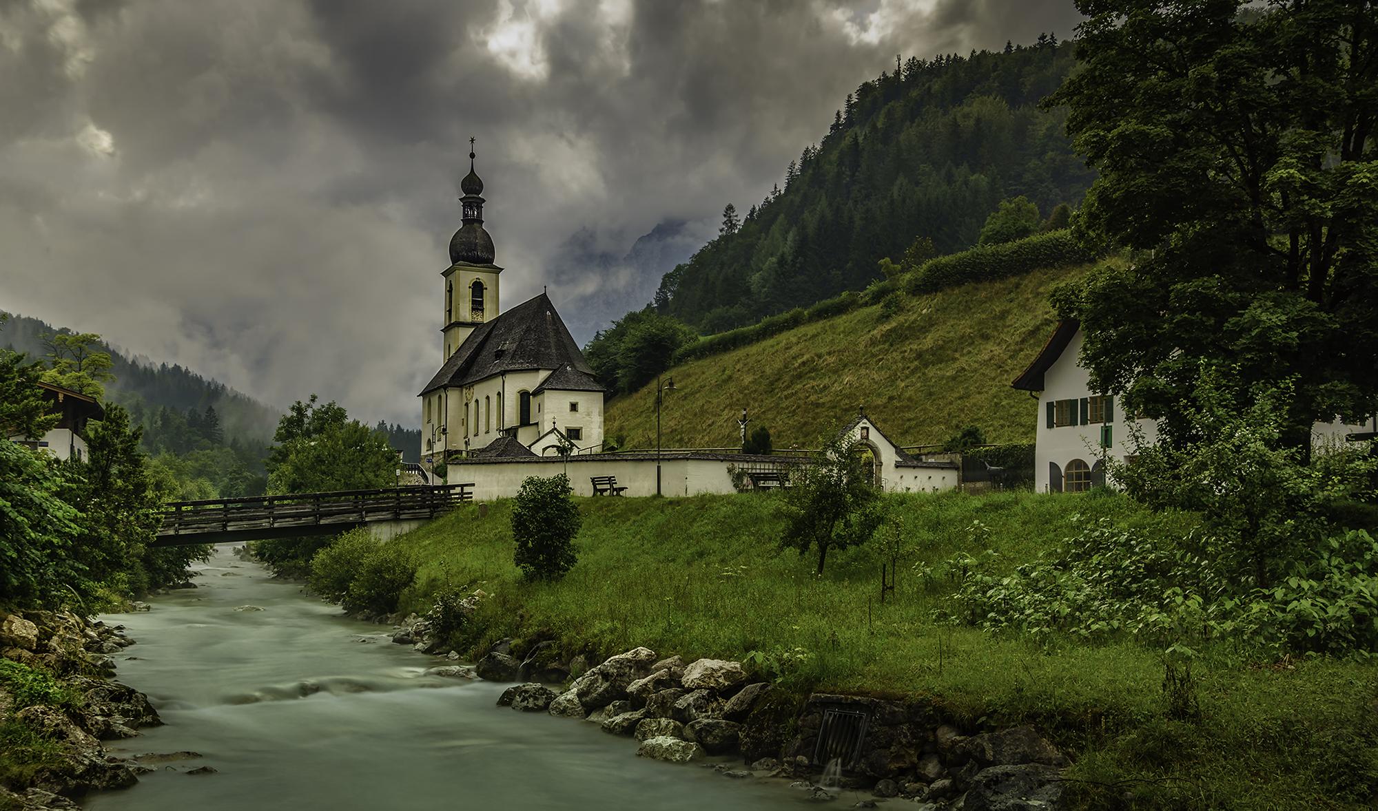 Parish Church of St. Sebastian, Ramsau, Germany