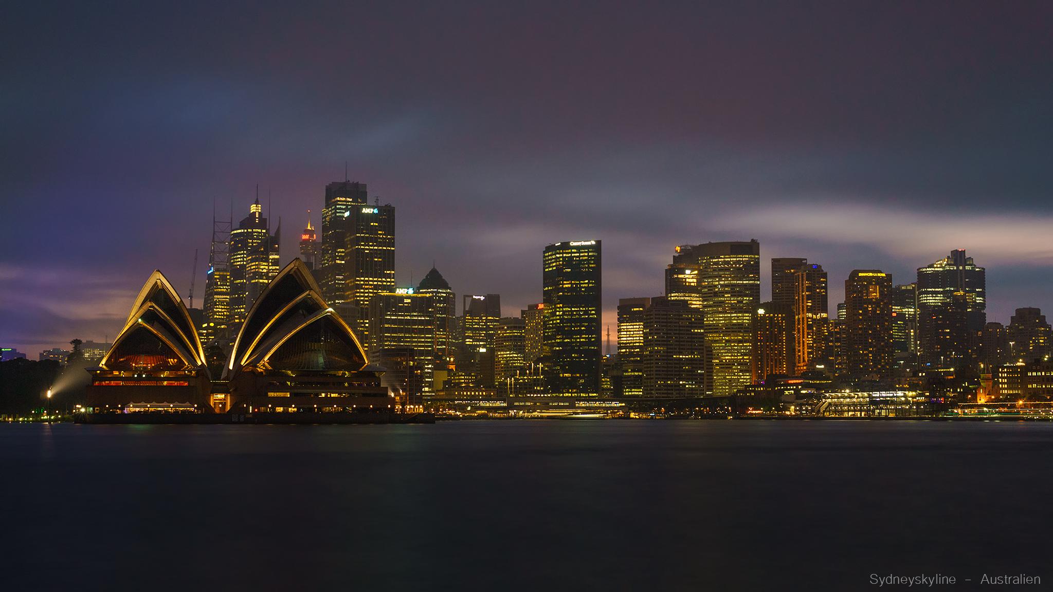 Sydneyskyline from Kirribilli, Australia