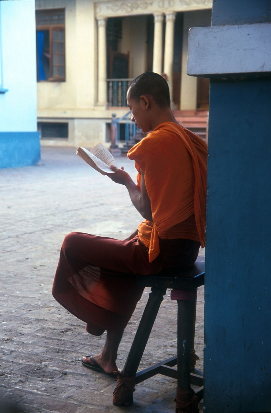 The pleasure of reading..., Myanmar