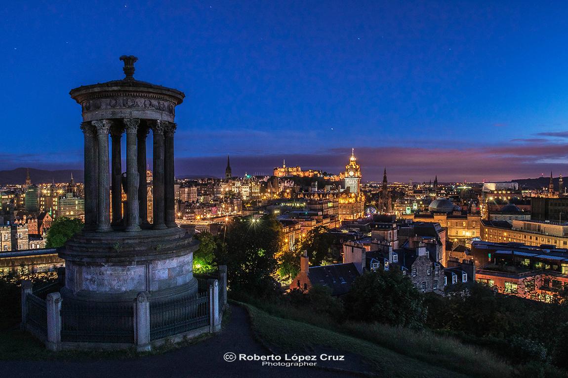 Edimburgo noche, United Kingdom