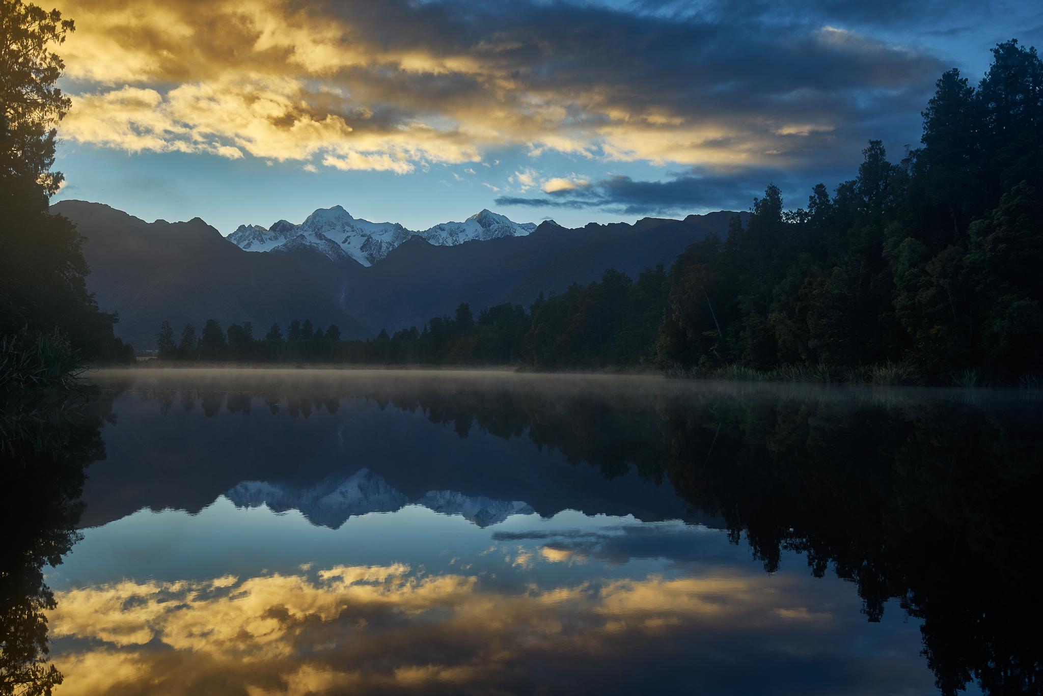 Lake Matheson, New Zealand, New Zealand