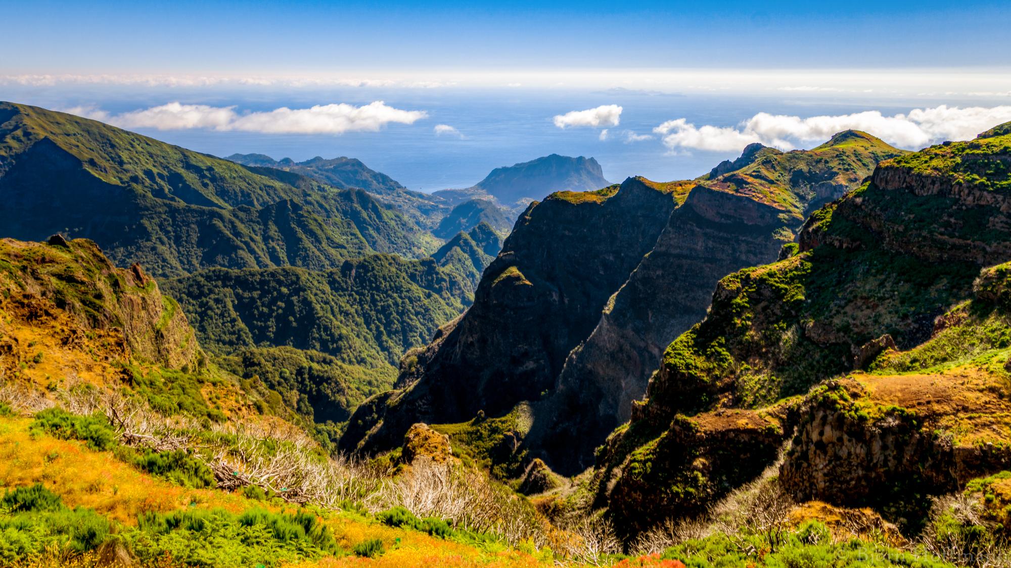 Madeira Mountains, Portugal