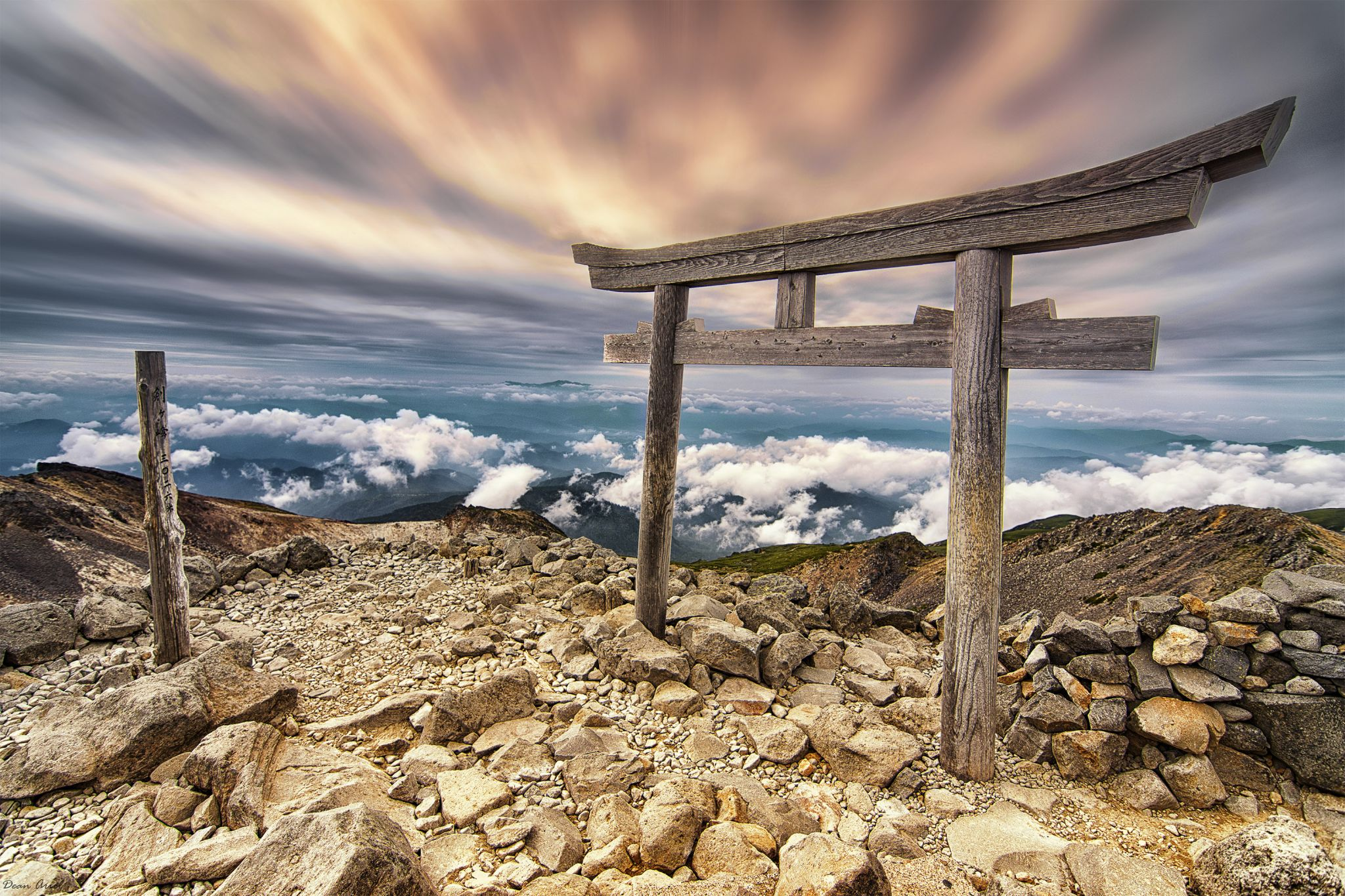 Mt Norikura, Japan