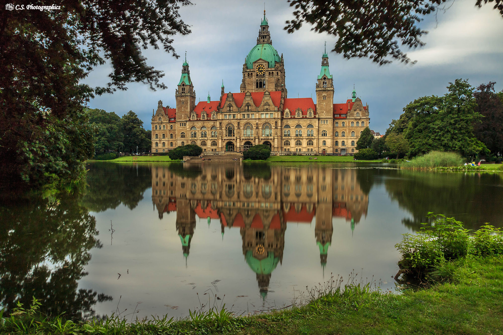 Neues Rathaus Hannover,Niedersachsen, Germany