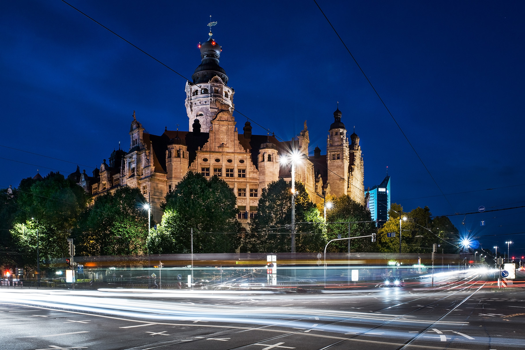 Neues Rathaus Leipzig, Germany