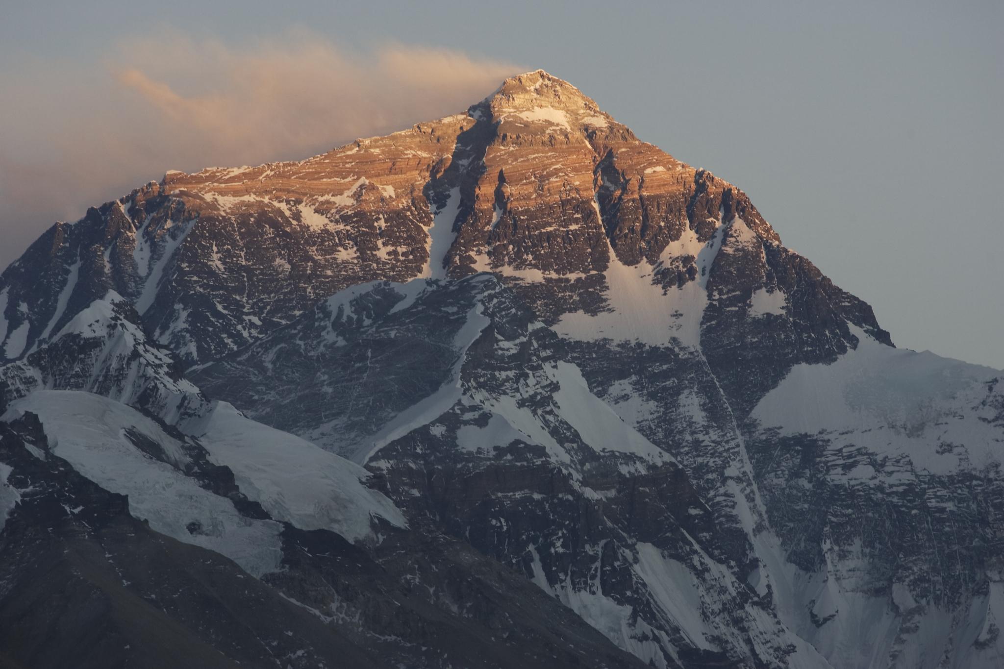 Qomolangma (Everest) sunrise, China