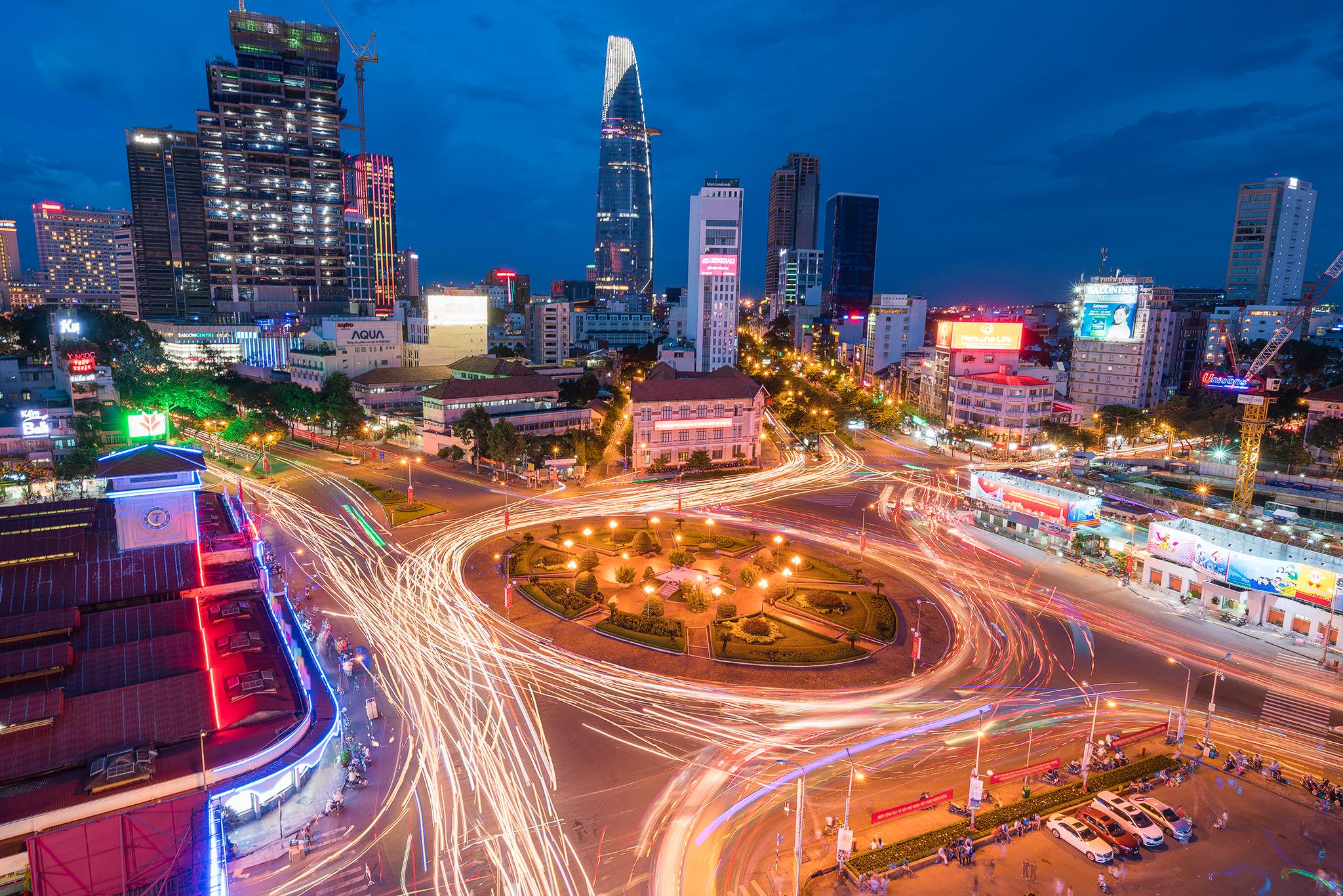 Quach Thi Trang Square, Vietnam