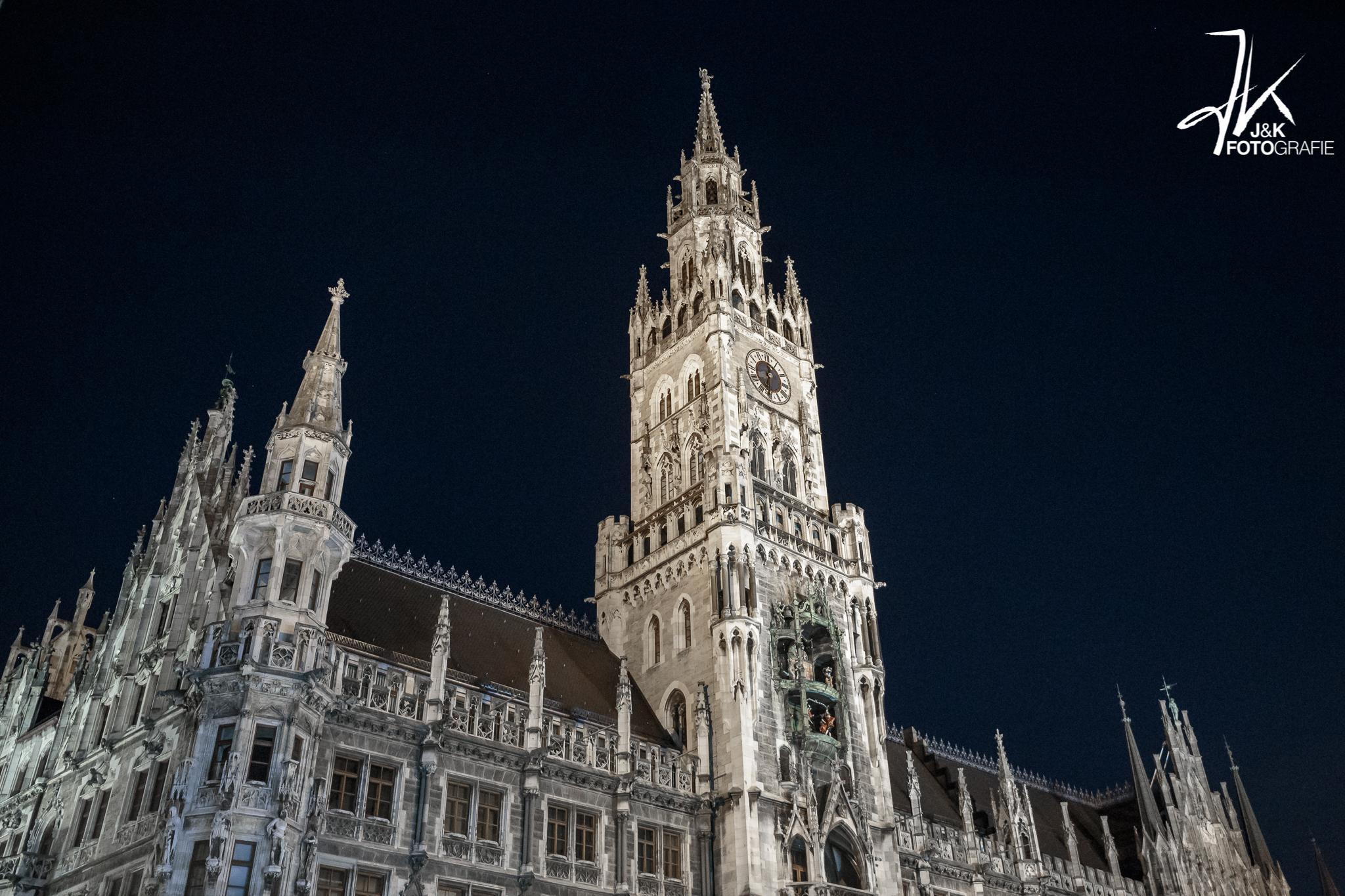 Rathaus bei Nacht, Germany