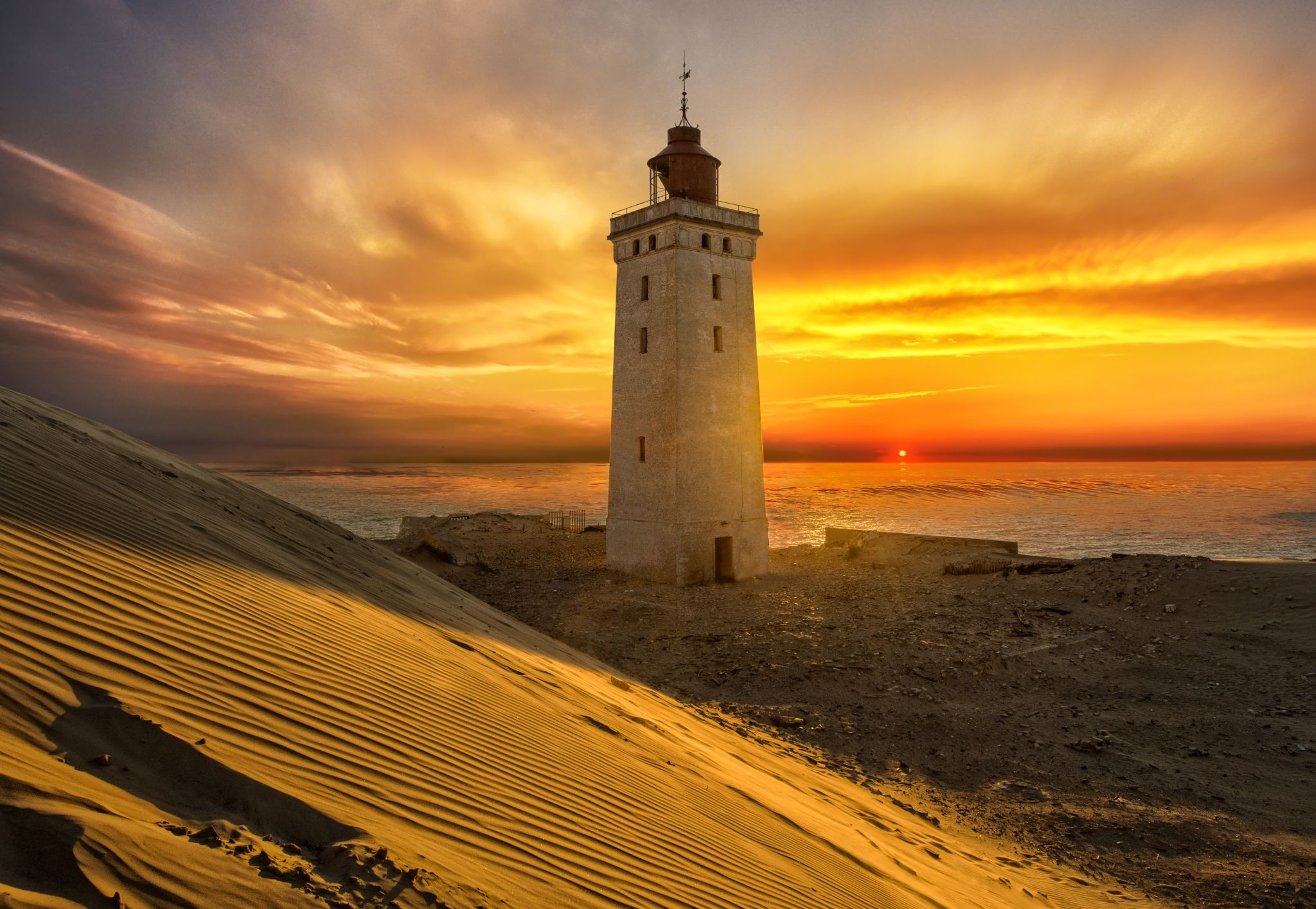 Ruberg Knude Lighthouse, Denmark